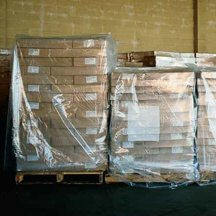 bedinhome - Packaging Supplies large Gusseted Poly Bags 3 Mil Clear Plastic Pallet Protection Cover- Case Of 50 - UNBRANDED - Pallet Covers