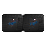 "MLB - Los Angeles Dodgers 2 Utility Mats 14""x17"""
