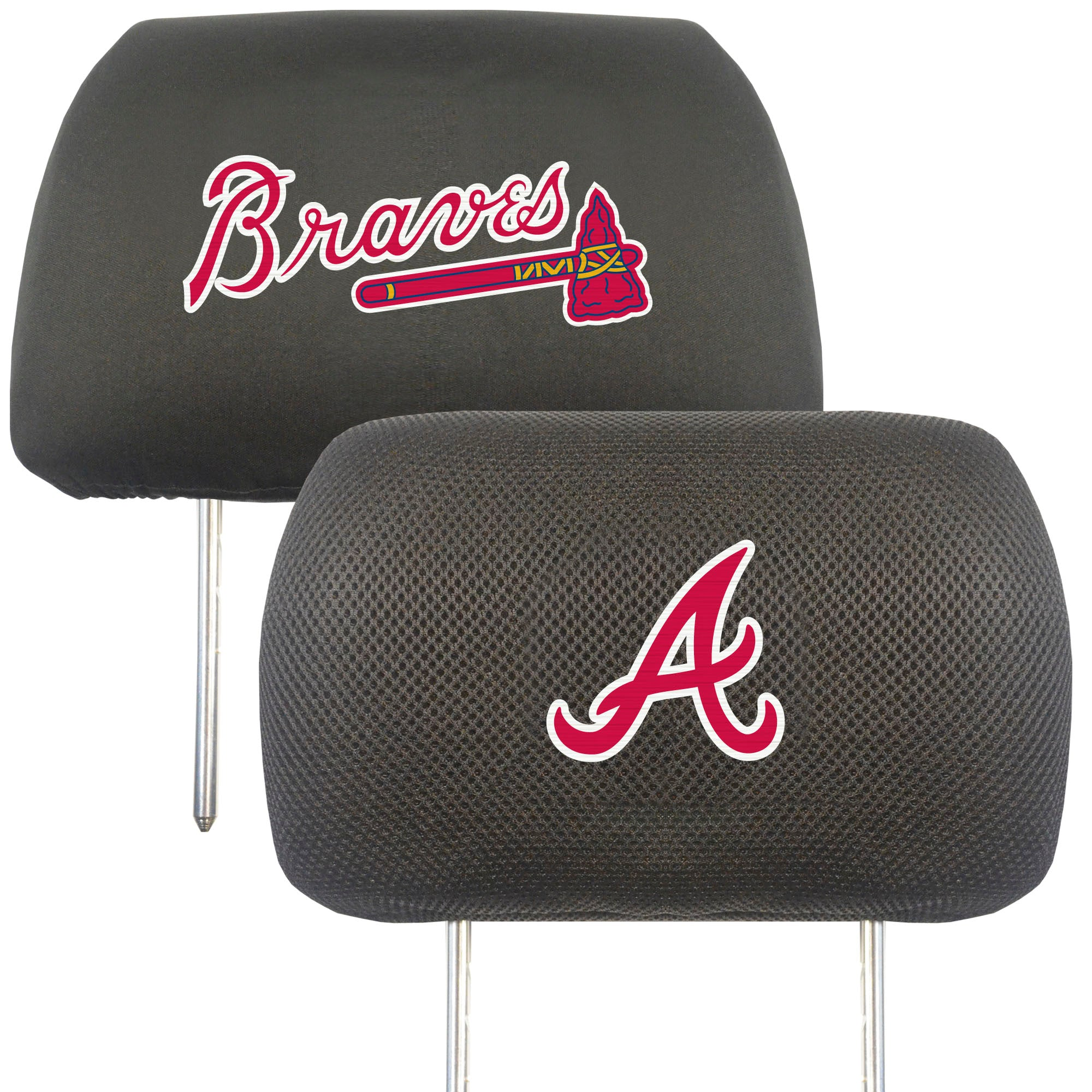 "MLB - Atlanta Braves Head Rest Cover 10""x13"""