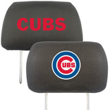 "MLB - Chicago Cubs Head Rest Cover 10""x13"""