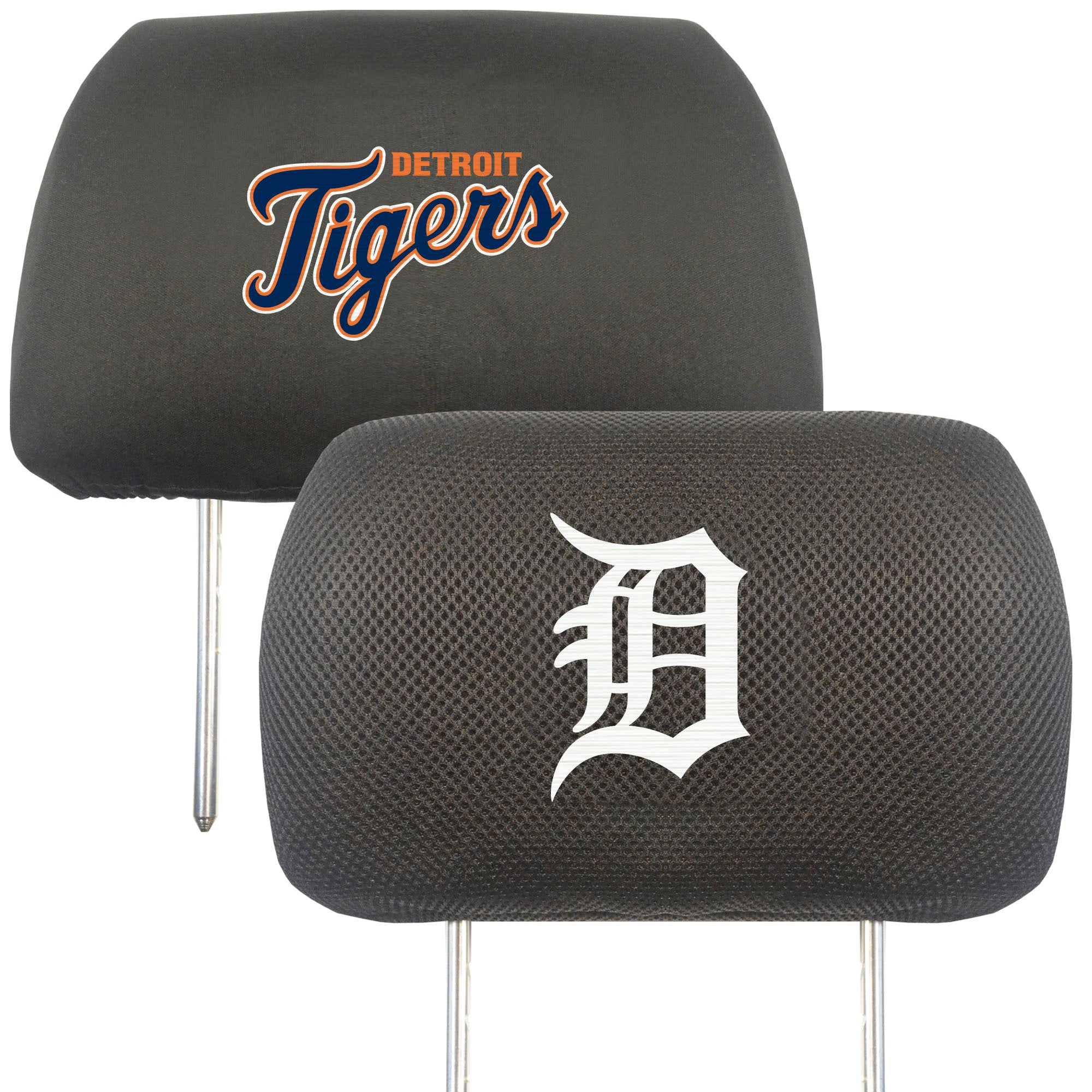 "MLB - Detroit Tigers Head Rest Cover 10""x13"""