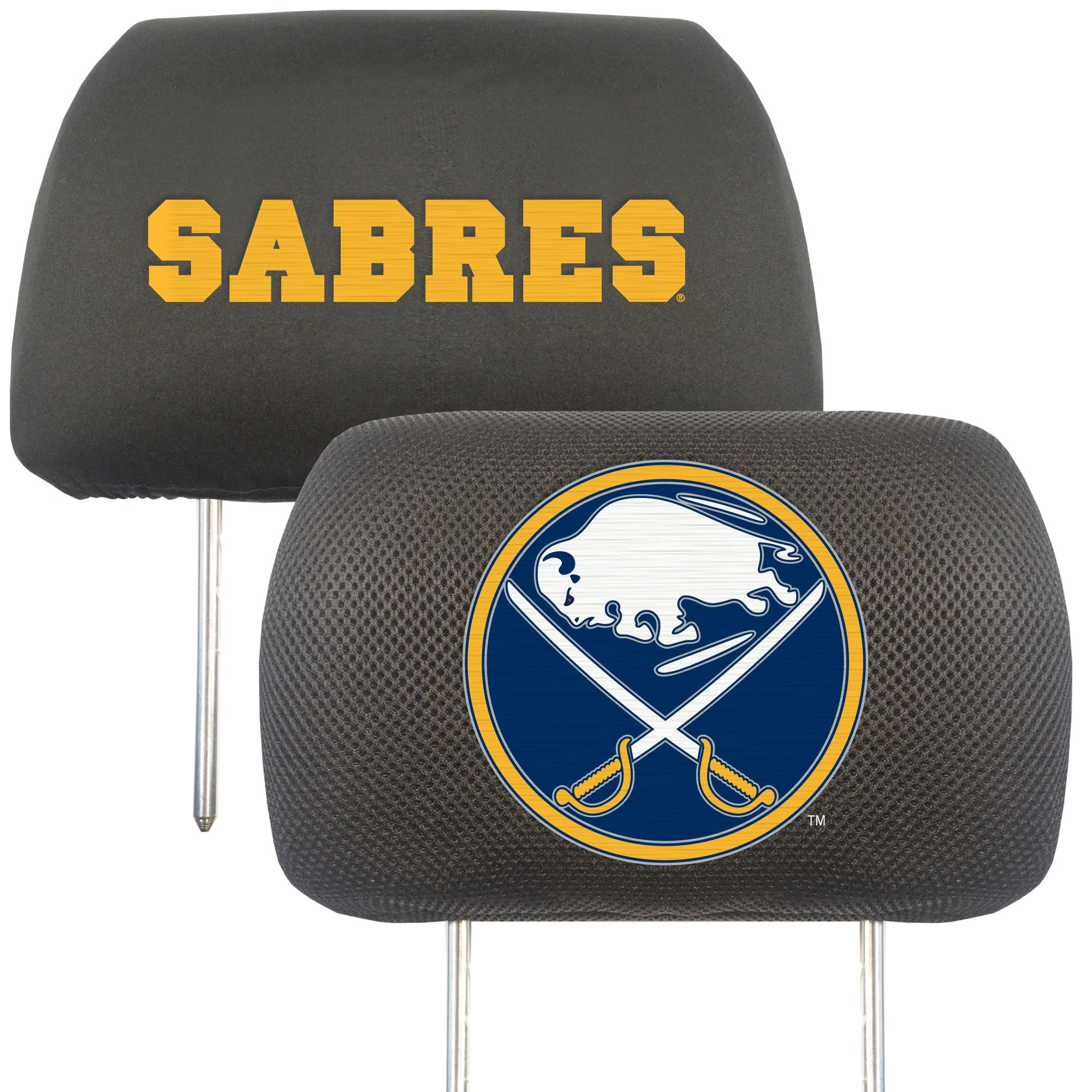 "NHL - Buffalo Sabres Head Rest Cover 10""x13"""