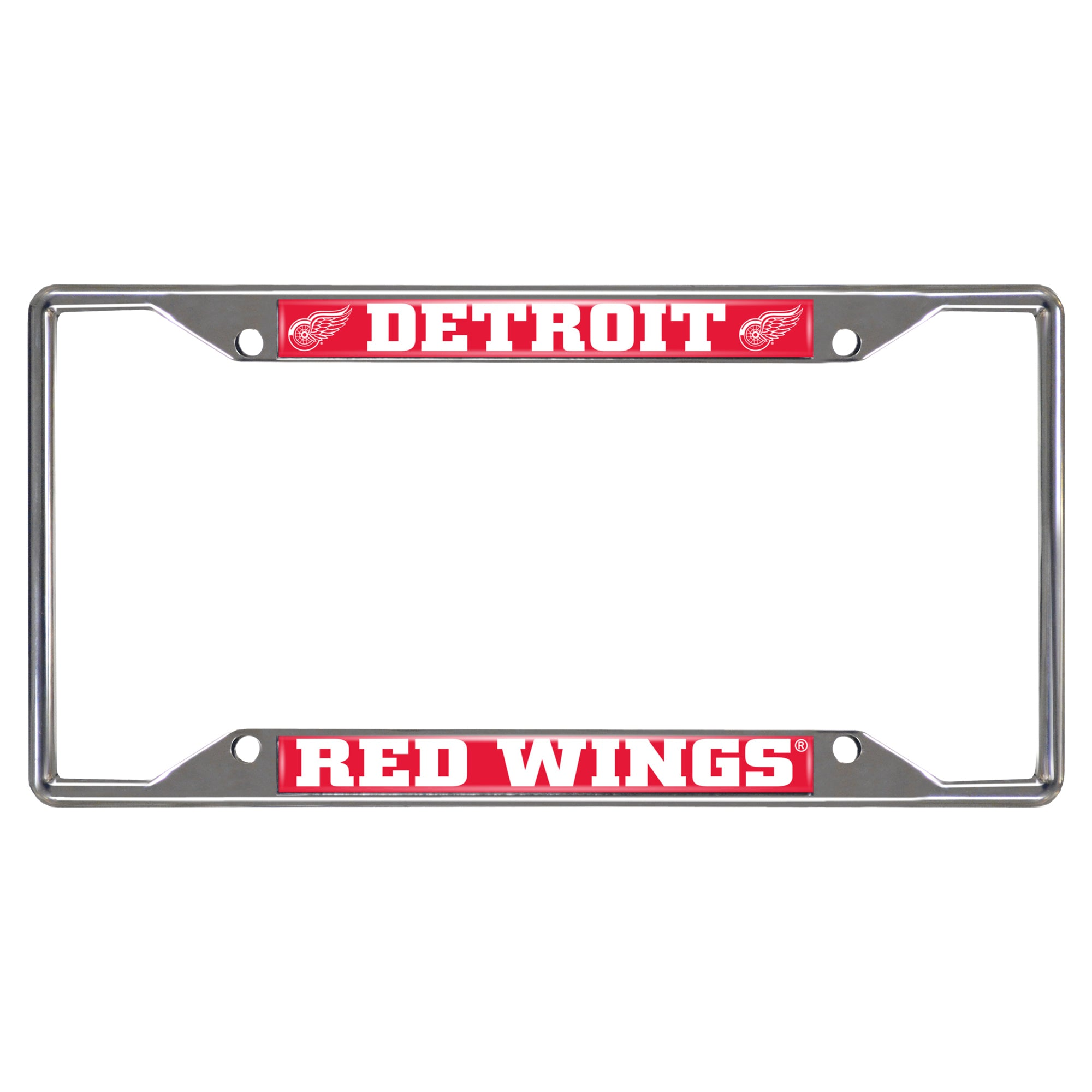 "NHL - Detroit Red Wings License Plate Frame 6.25""x12.25"""