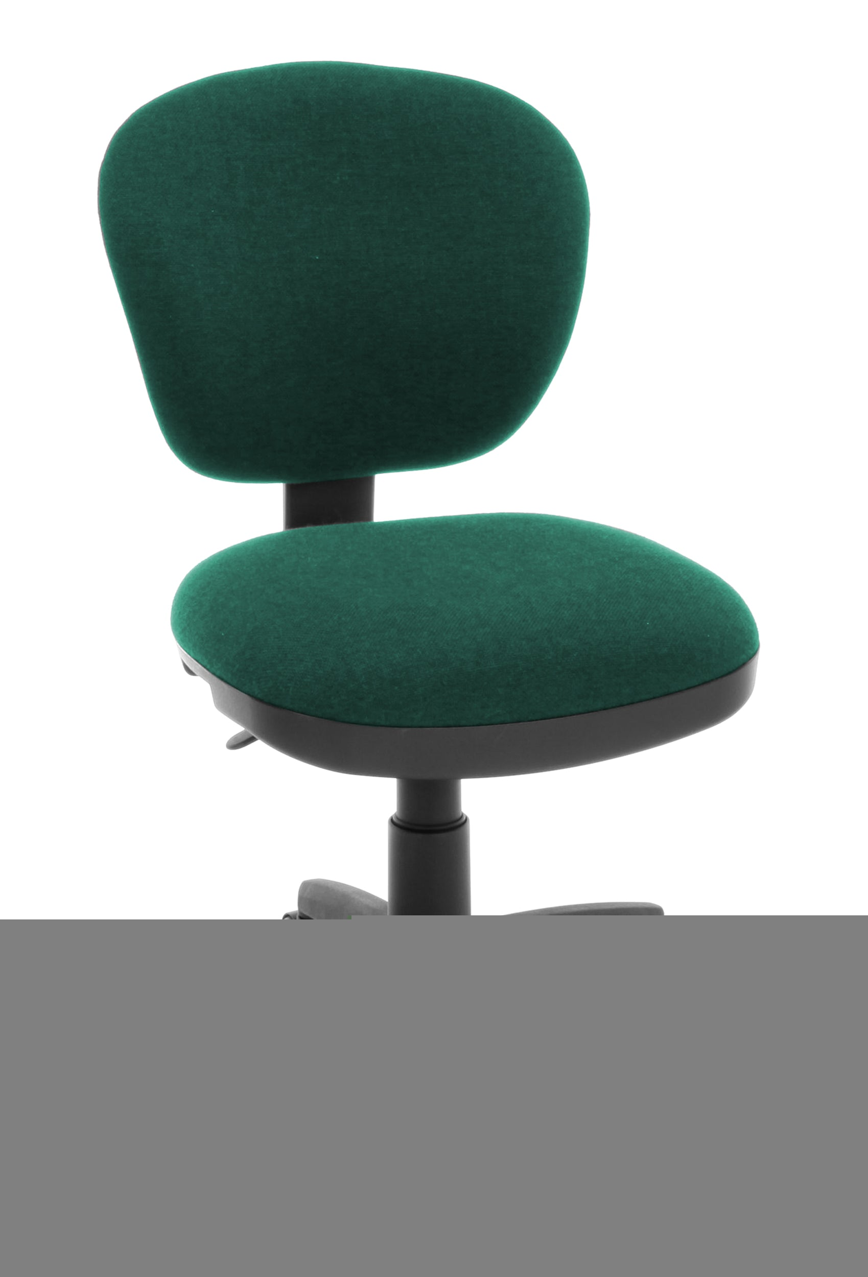 Model 150 Armless Fabric Swivel Light Use Task Computer Chair