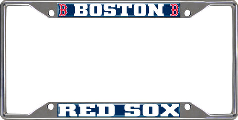 "MLB - Boston Red Sox License Plate Frame 6.25""x12.25"""