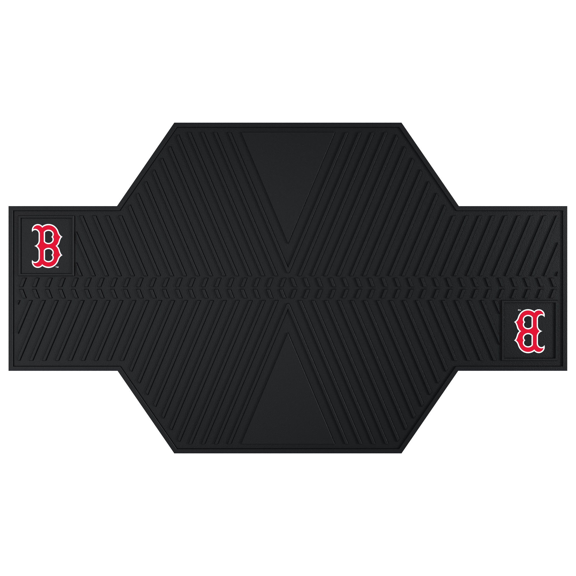 "MLB - Boston Red Sox Motorcycle Mat 82.5""x42"""
