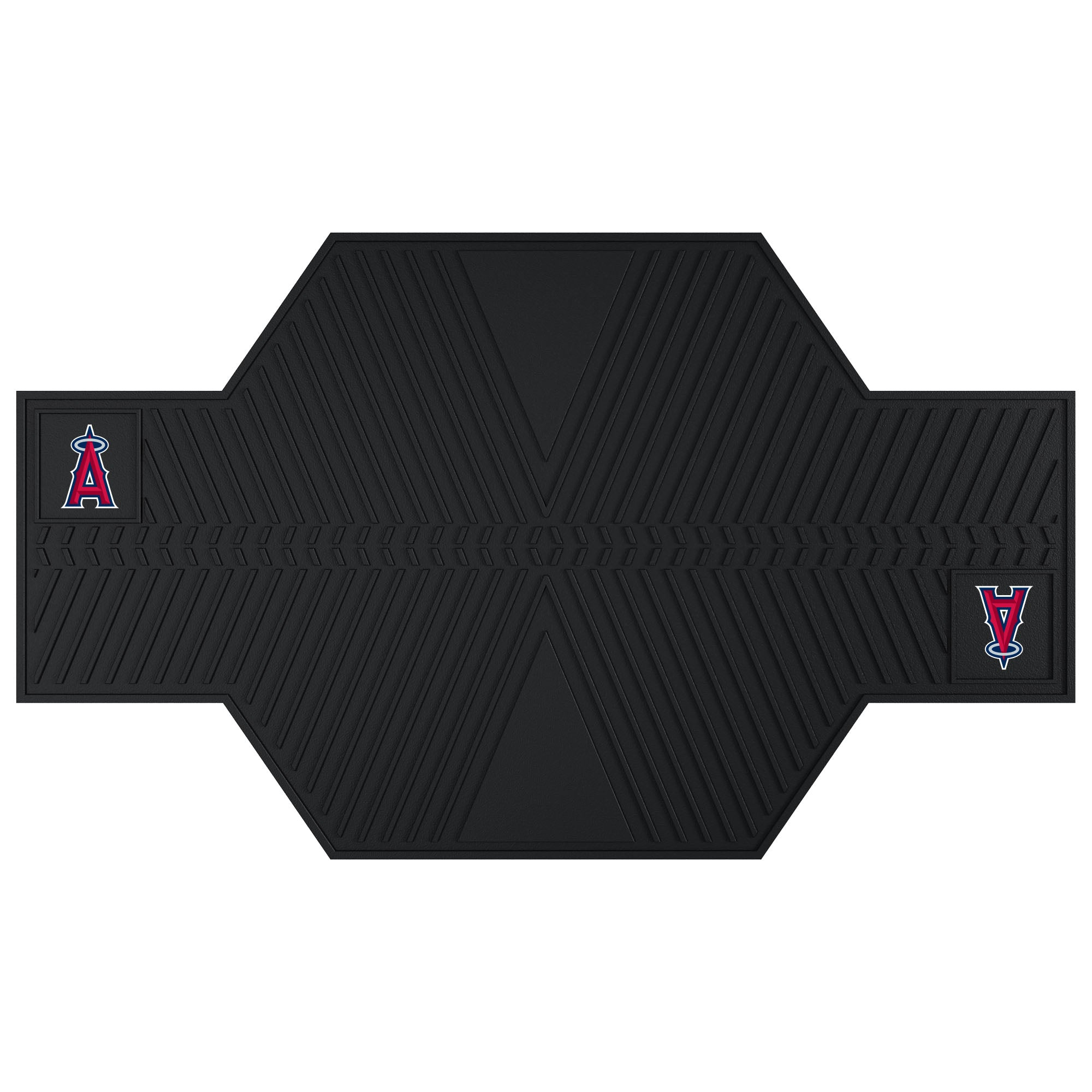 "MLB - Los Angeles Angels Motorcycle Mat 82.5""x42"""