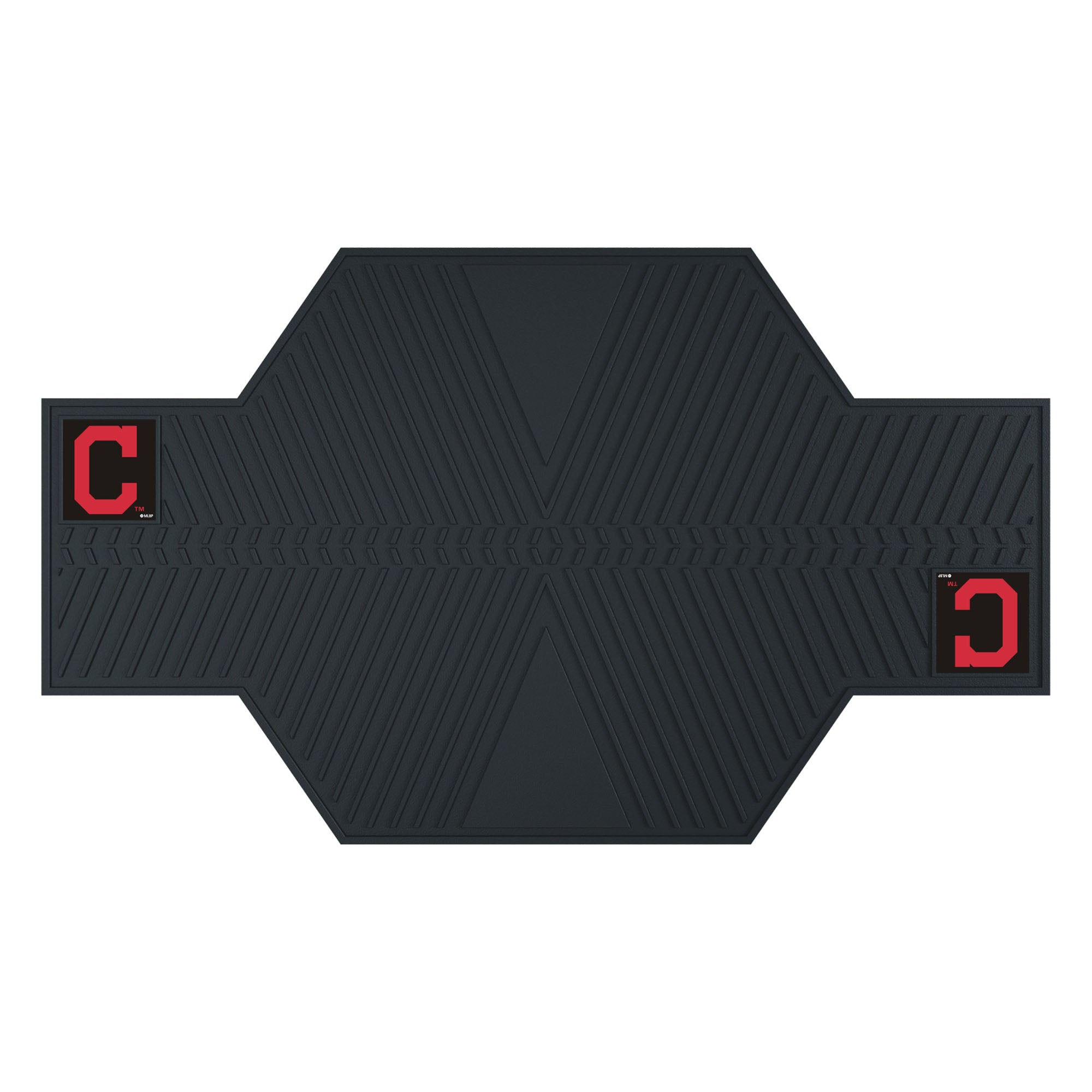 "MLB - Cleveland Indians Motorcycle Mat 82.5""x42"""