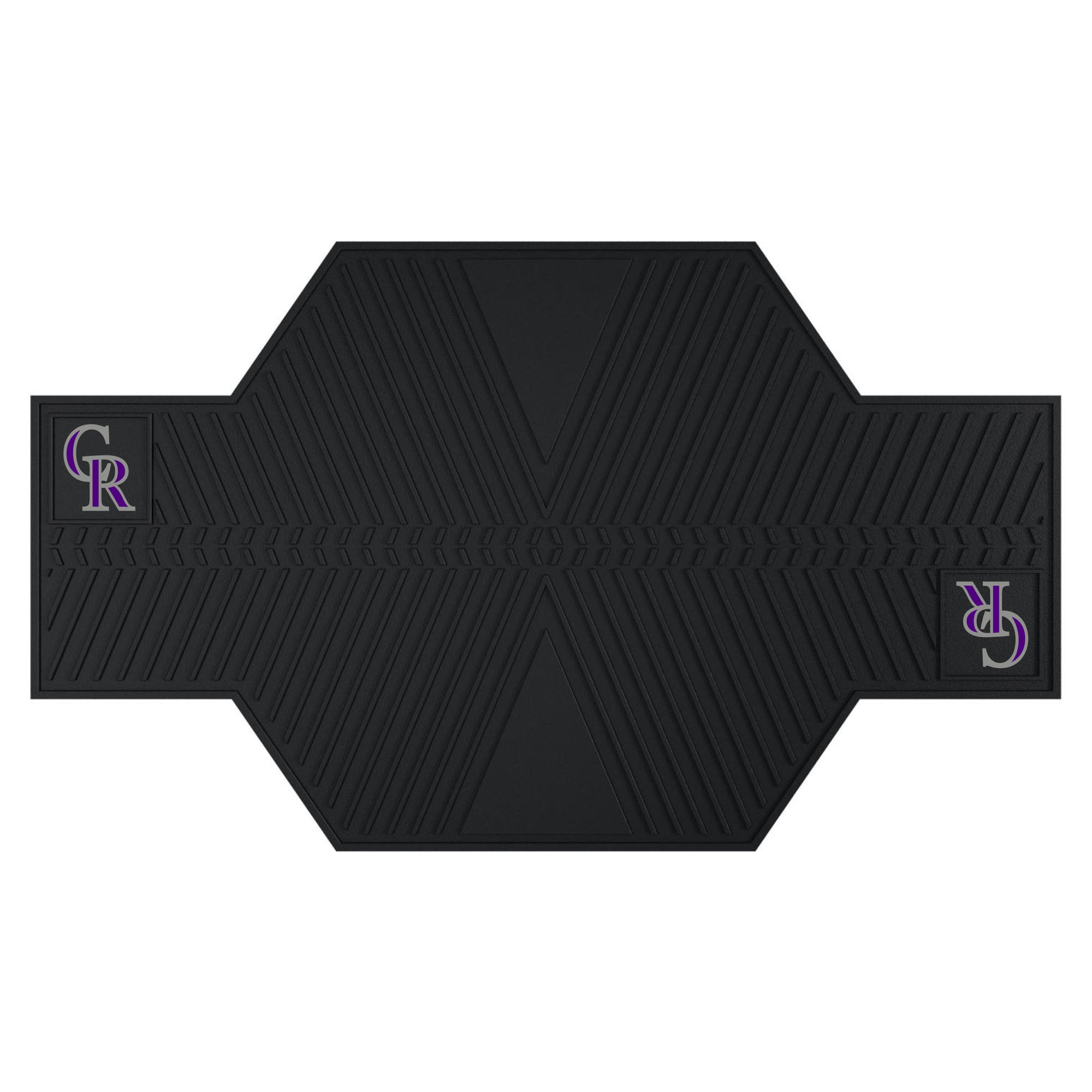 "MLB - Colorado Rockies Motorcycle Mat 82.5""x42"""