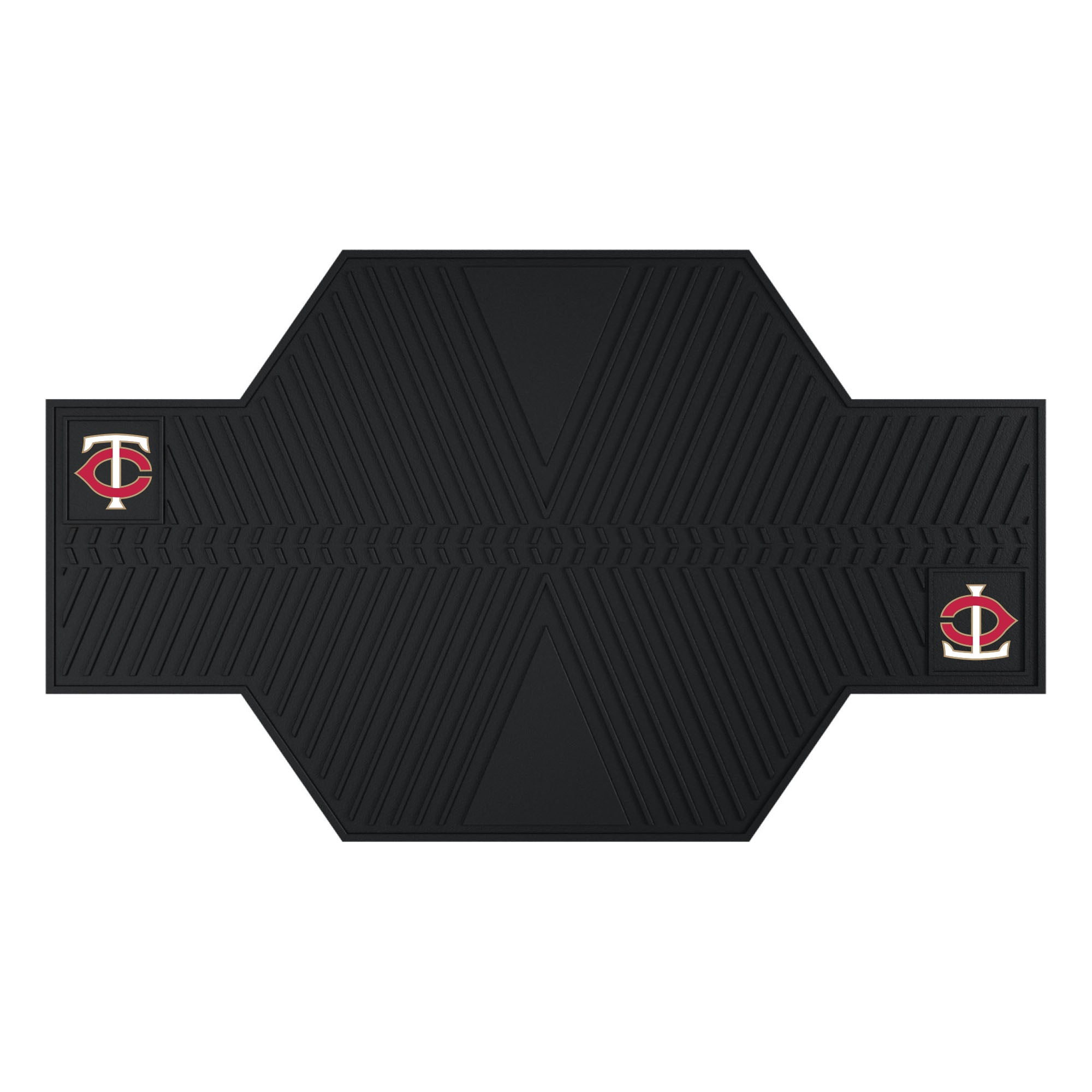 "MLB - Minnesota Twins Motorcycle Mat 82.5""x42"""