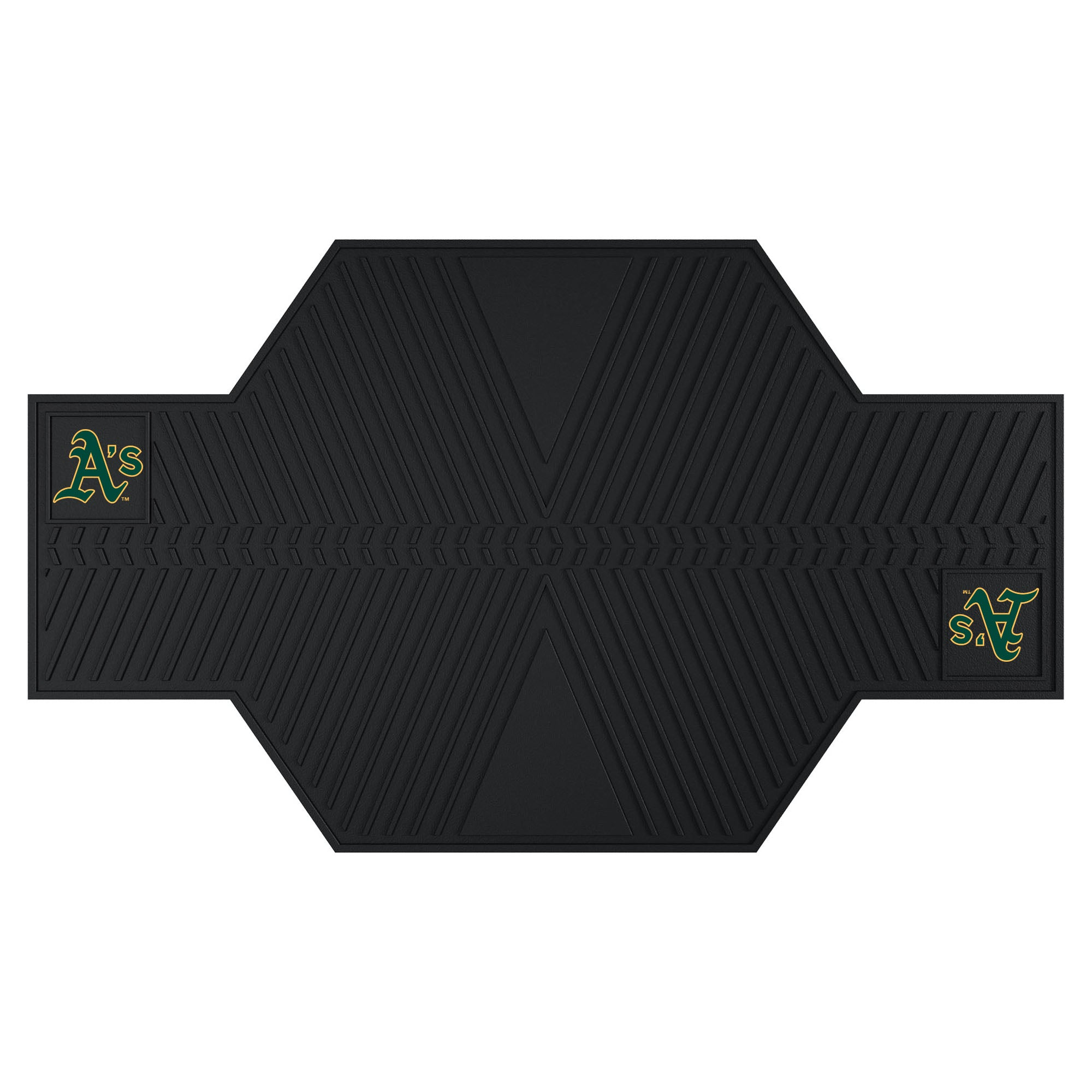 "MLB - Oakland Athletics Motorcycle Mat 82.5""x42"""