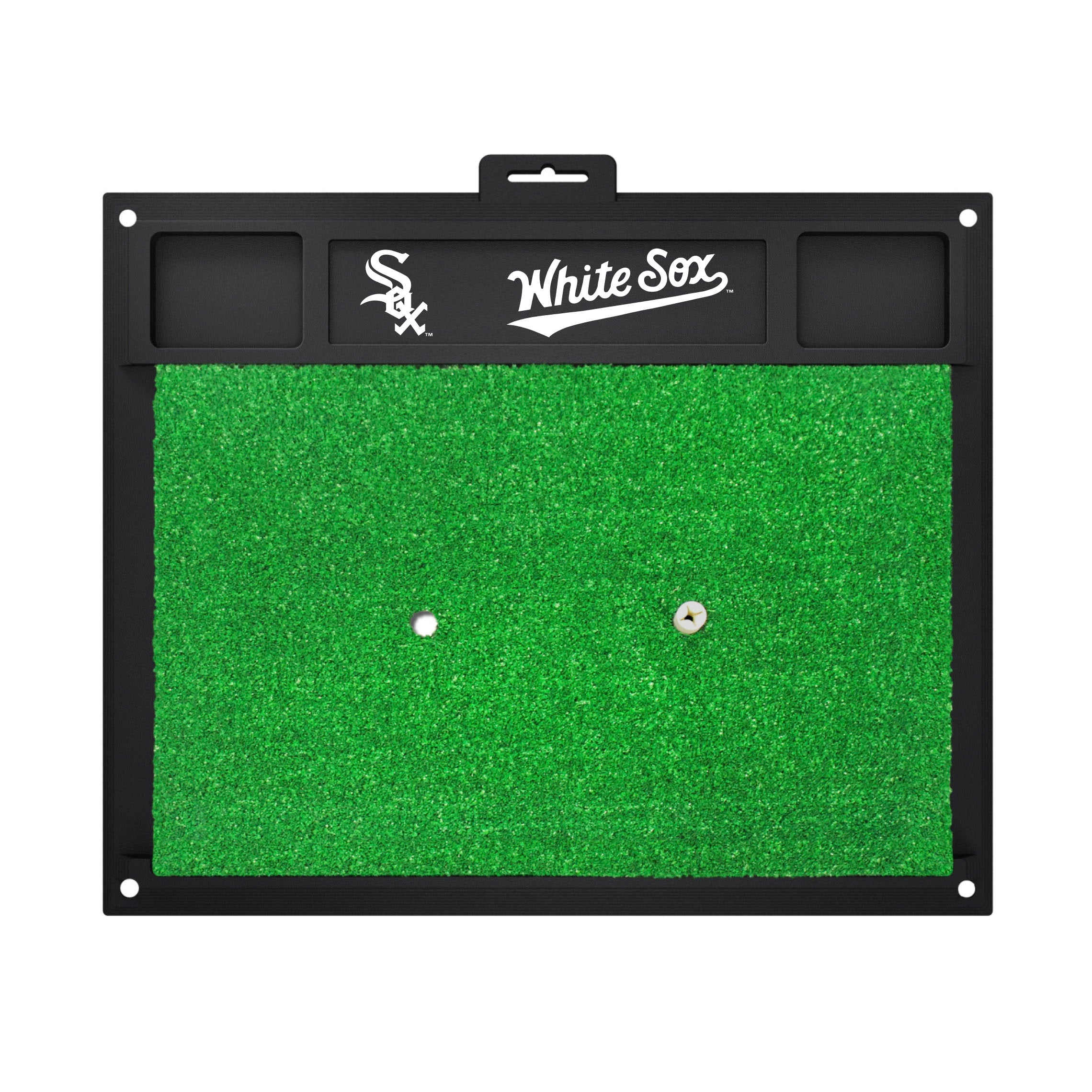 "MLB - Chicago White Sox Golf Hitting Mat 20"" x 17"""