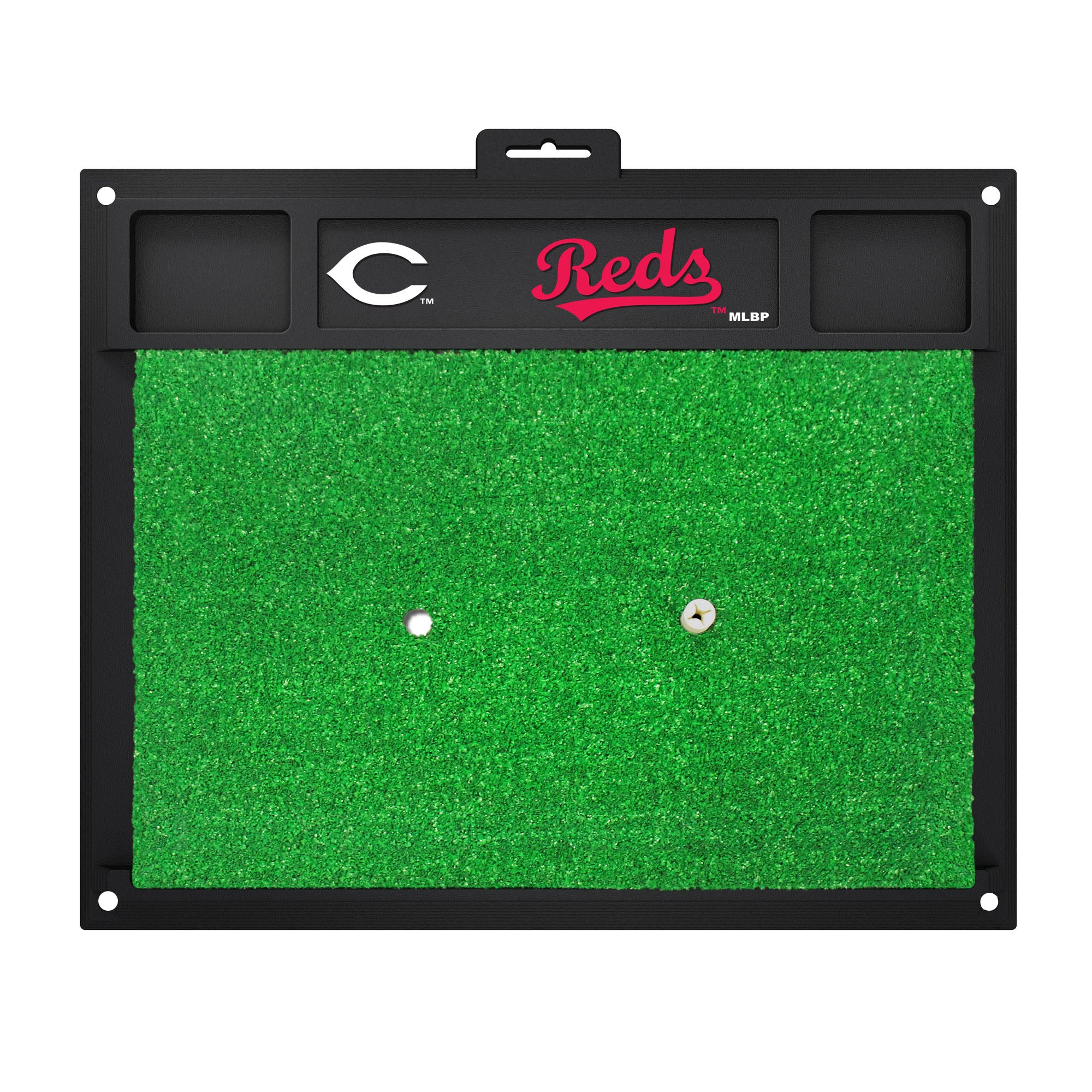 "MLB - Cincinnati Reds Golf Hitting Mat 20"" x 17"""