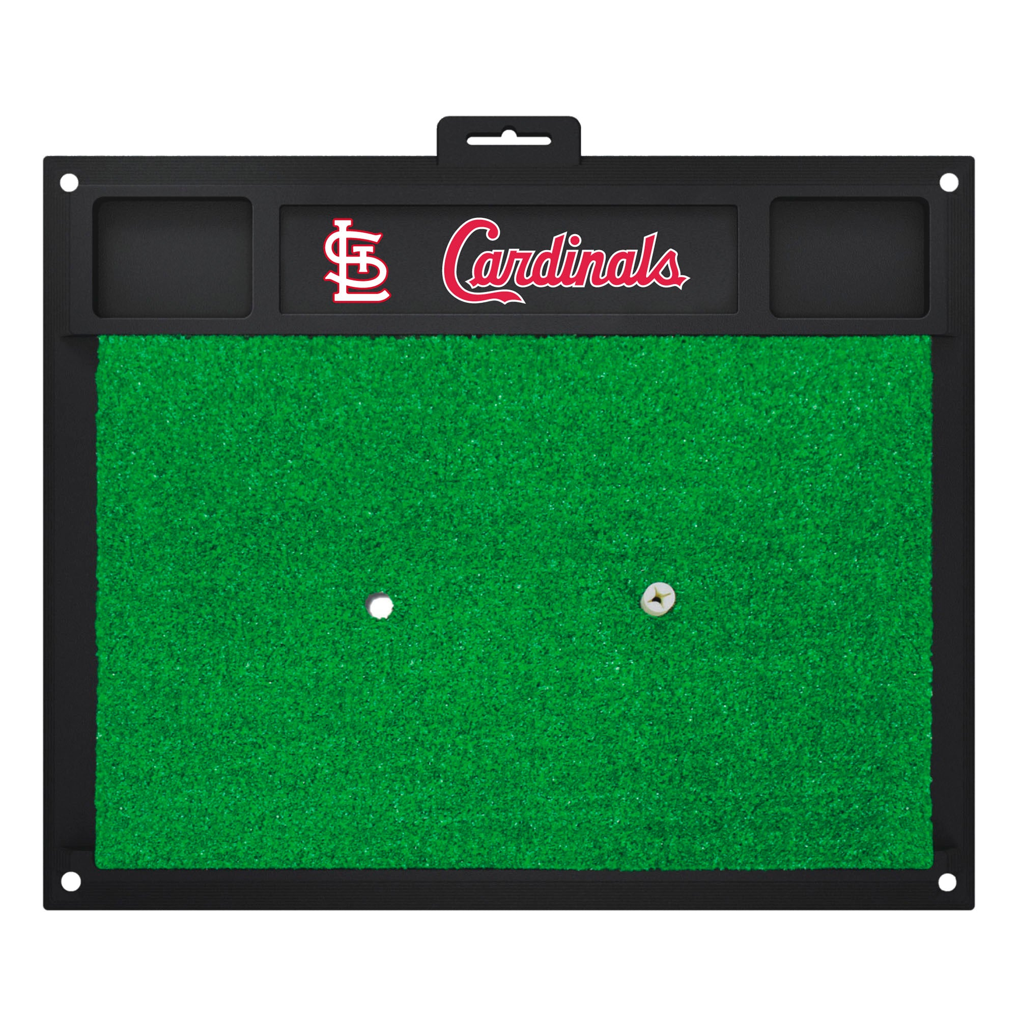 "MLB - St. Louis Cardinals Golf Hitting Mat 20"" x 17"""