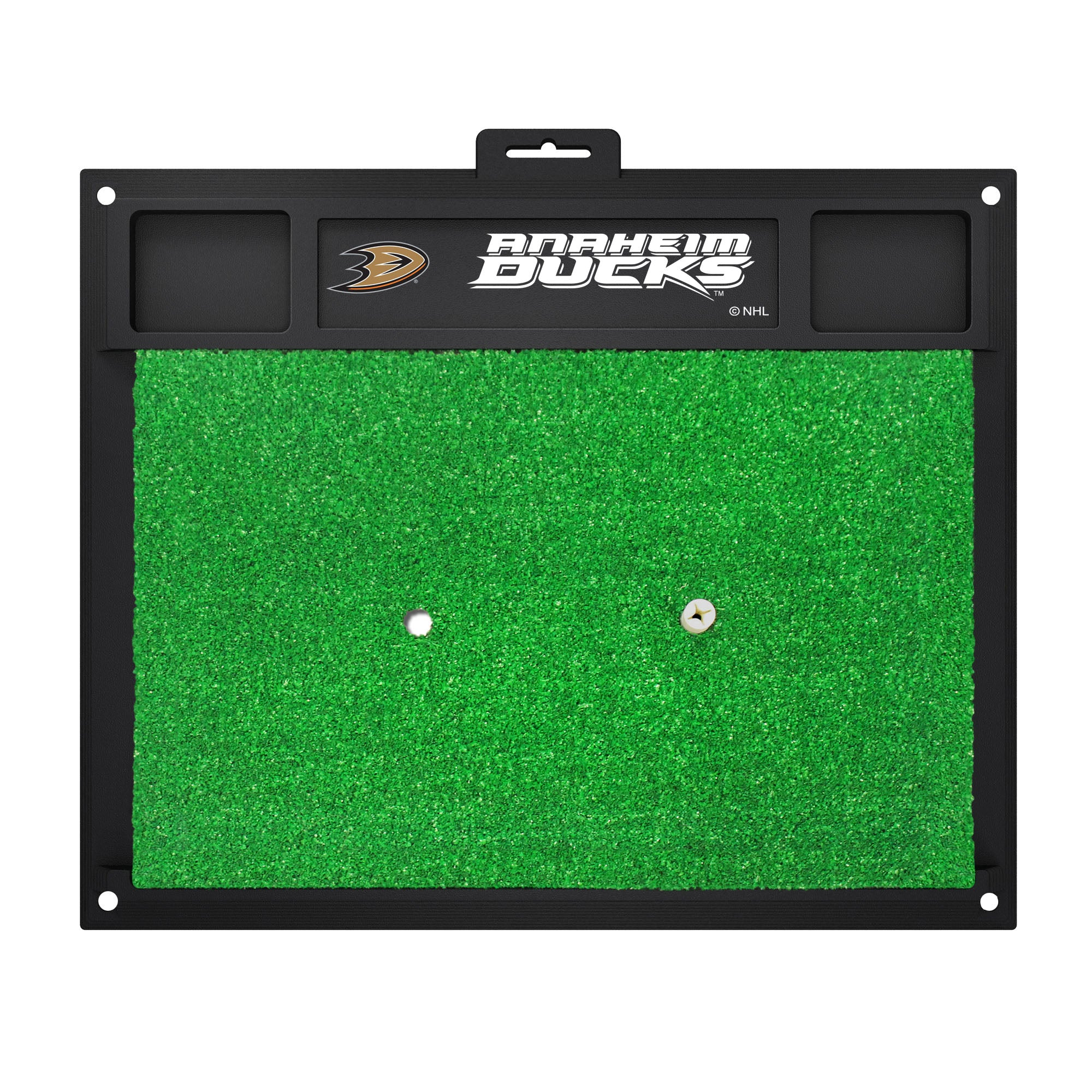 "NHL - Anaheim Ducks Golf Hitting Mat 20"" x 17"""