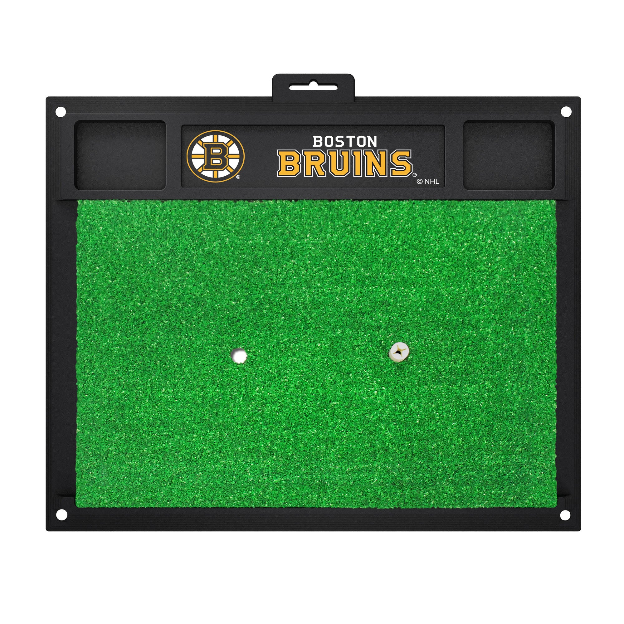 "NHL - Boston Bruins Golf Hitting Mat 20"" x 17"""