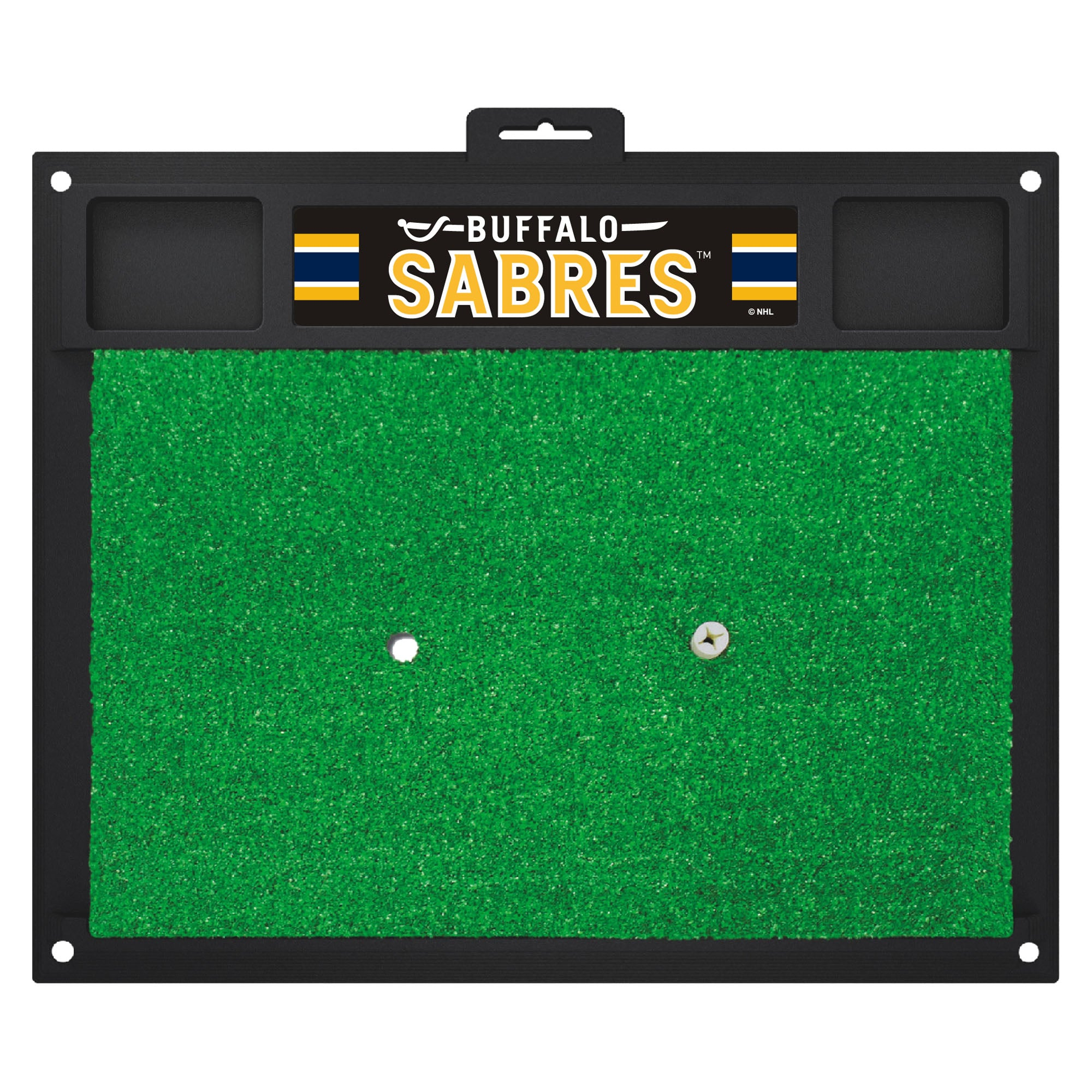 "NHL - Buffalo Sabres Golf Hitting Mat 20"" x 17"""