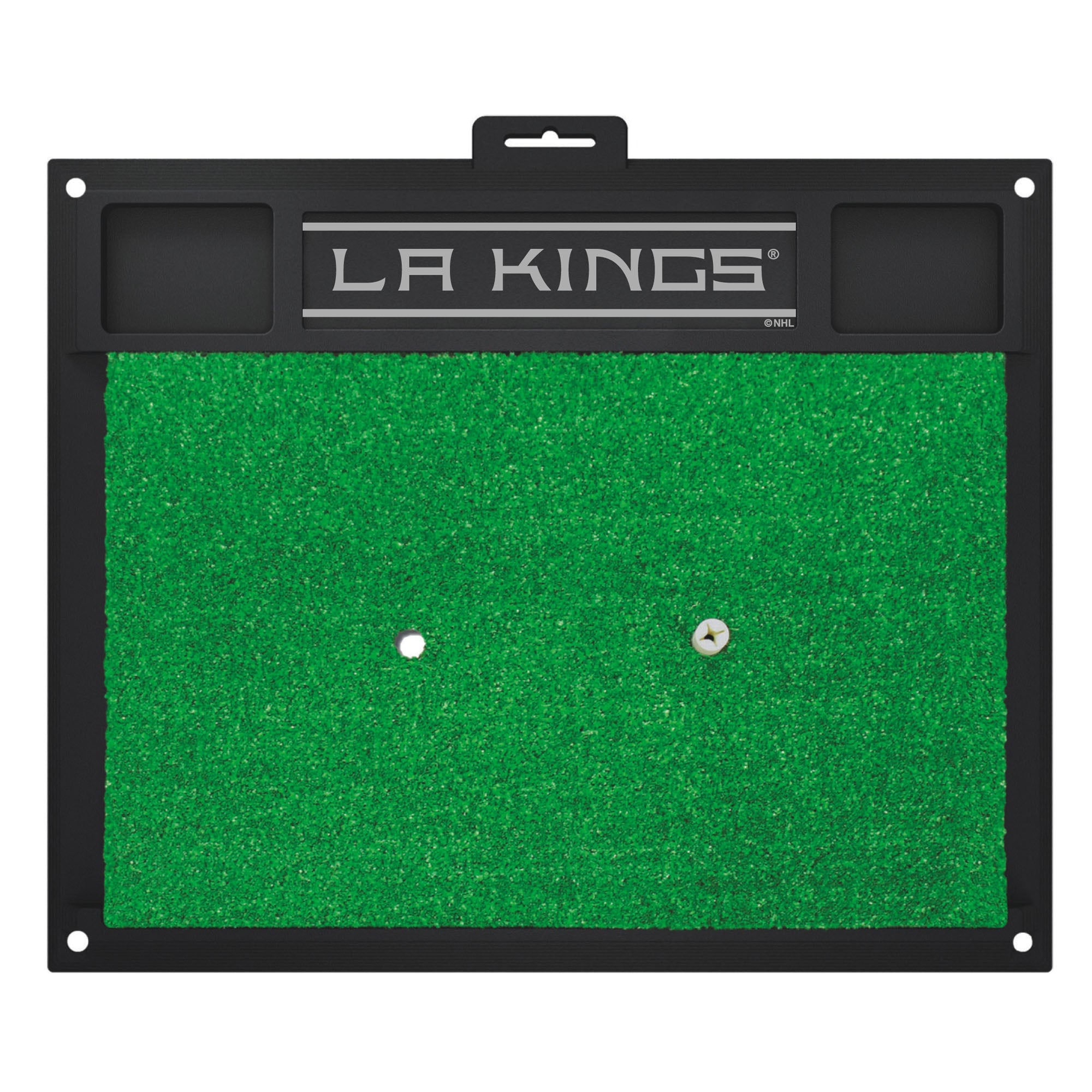 "NHL - Los Angeles Kings Golf Hitting Mat 20"" x 17"""