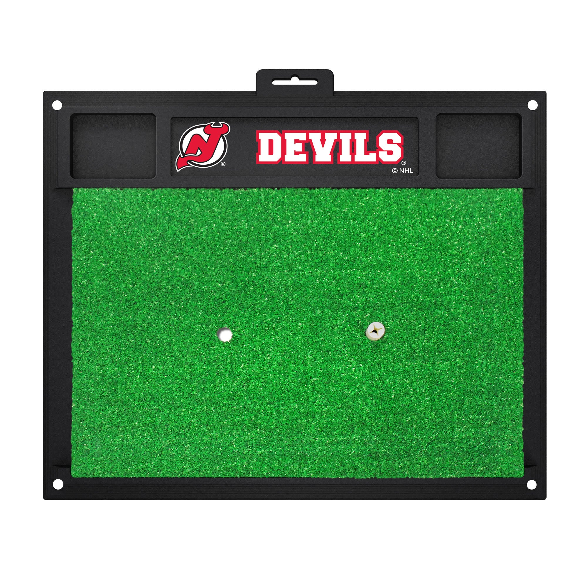"NHL - New Jersey Devils Golf Hitting Mat 20"" x 17"""