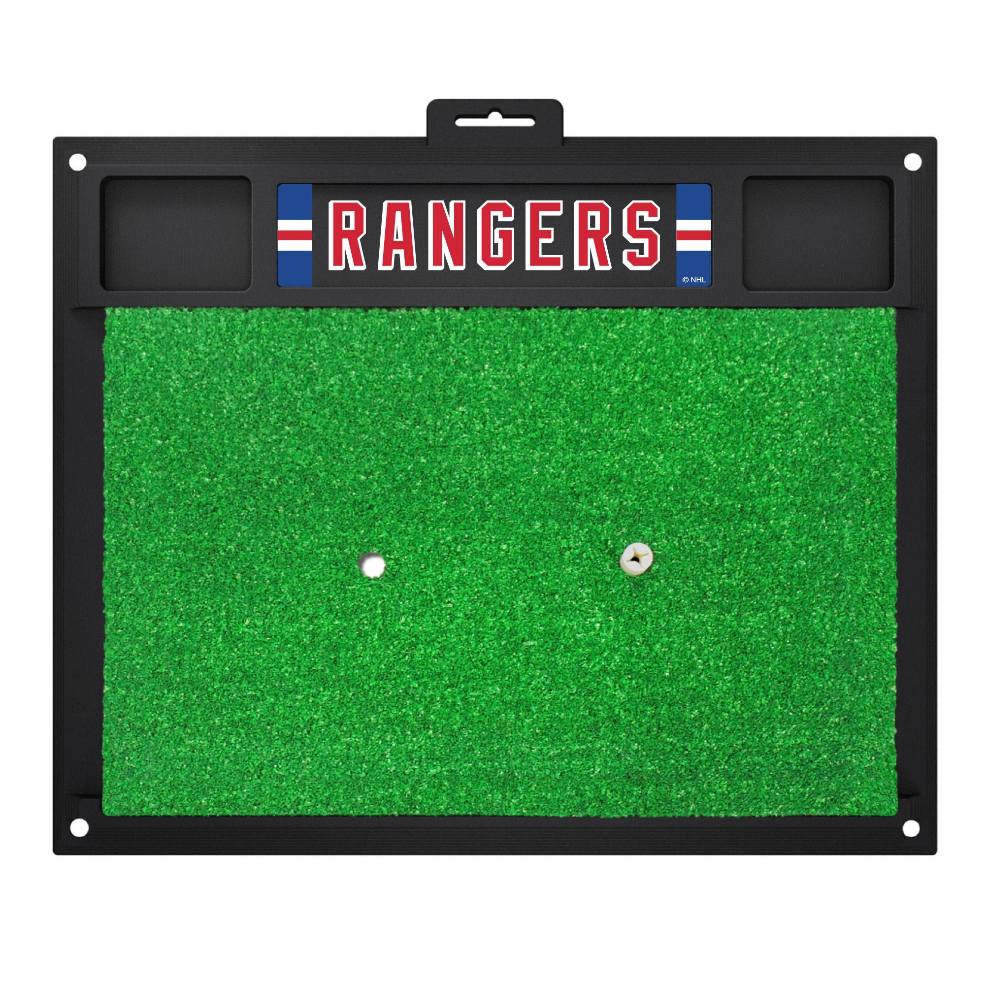 "NHL - New York Rangers Golf Hitting Mat 20"" x 17"""