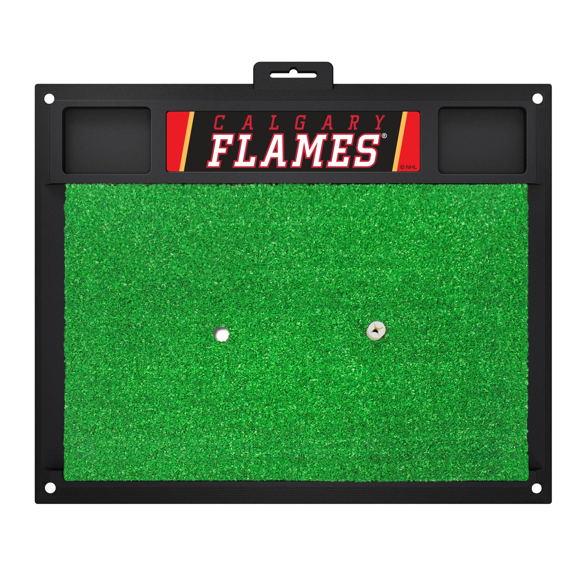 "NHL - Calgary Flames Golf Hitting Mat 36"" x 19.1"""