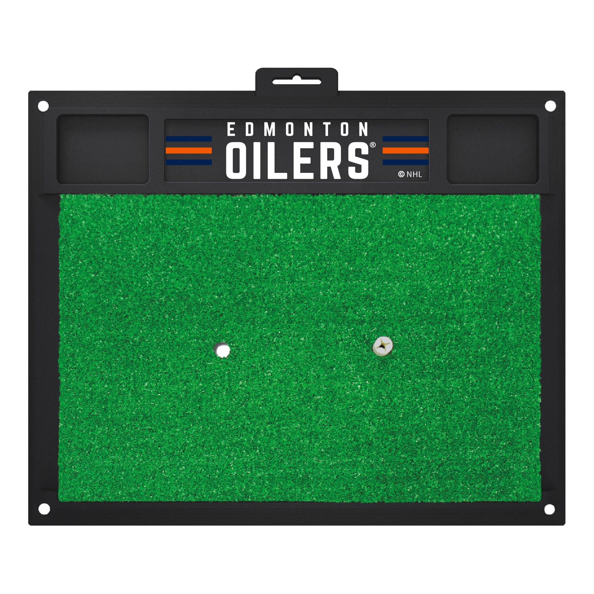 "NHL - Edmonton Oilers Golf Hitting Mat 36"" x 36"""