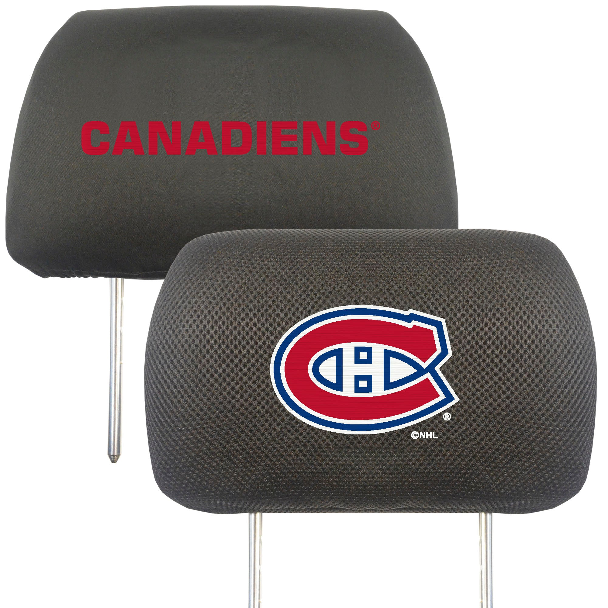 "NHL - Montreal Canadiens Head Rest Cover 10""x13"""