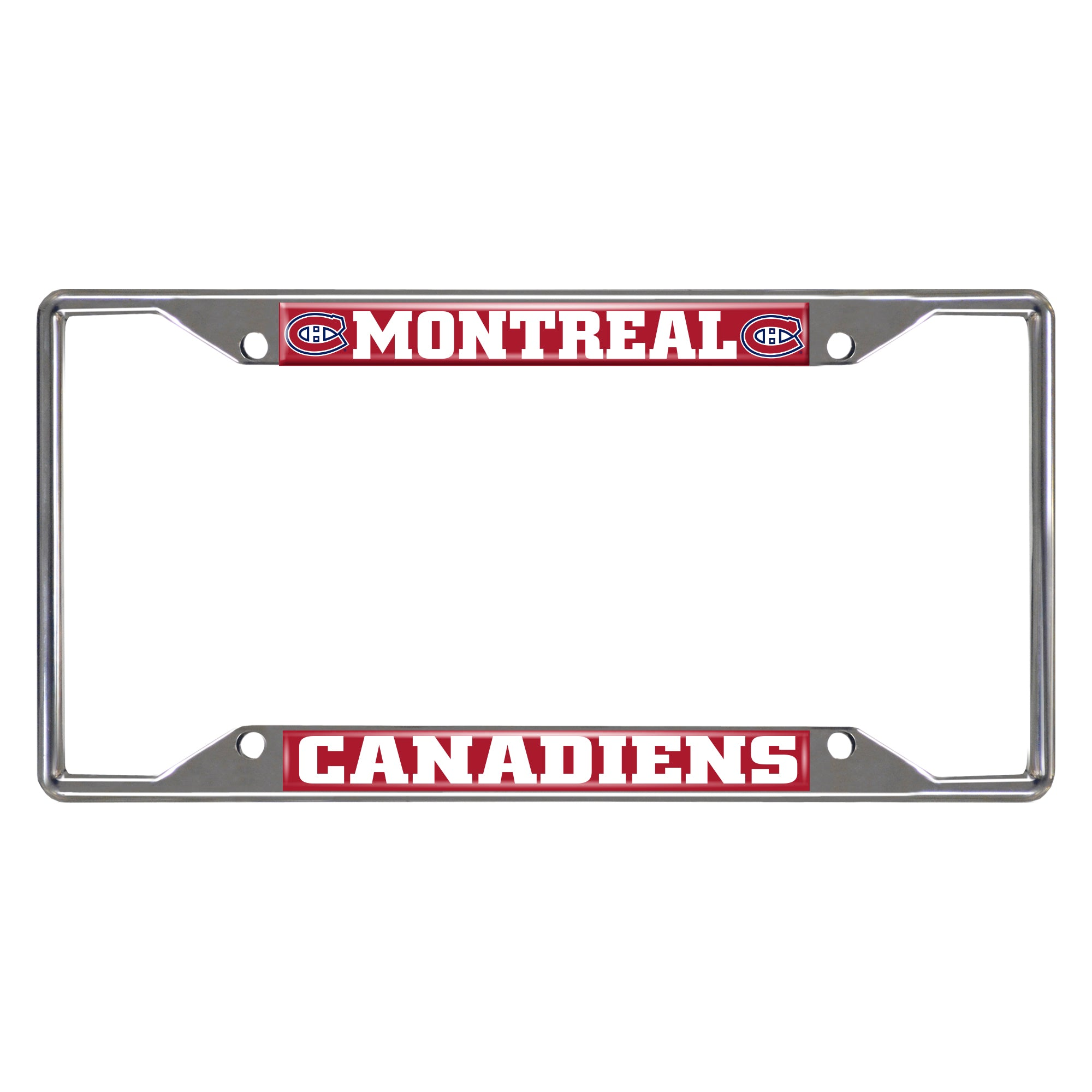 "NHL - Montreal Canadiens License Plate Frame 6.25""x12.25"""