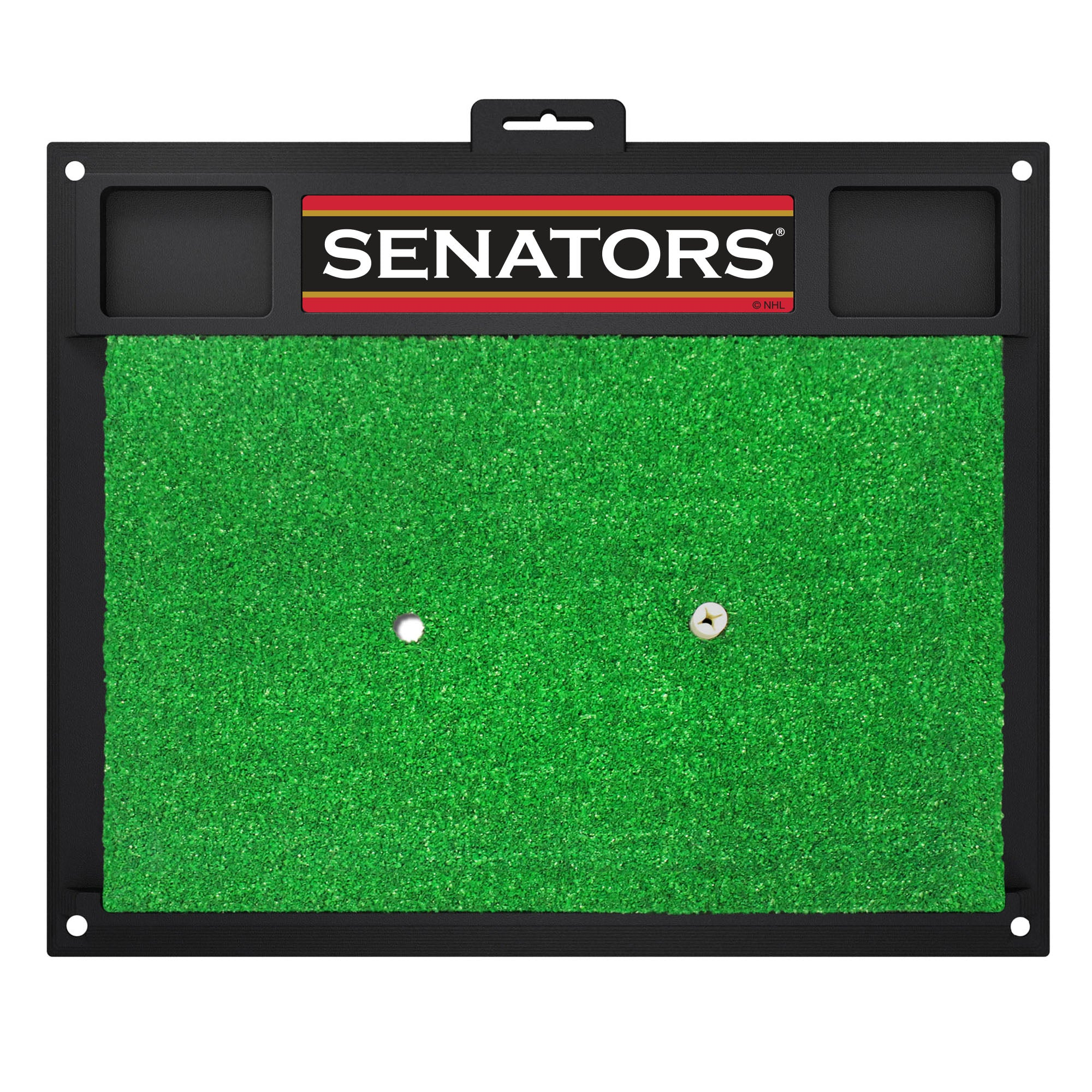 "NHL - Ottawa Senators Golf Hitting Mat 36"" x 26.5"""
