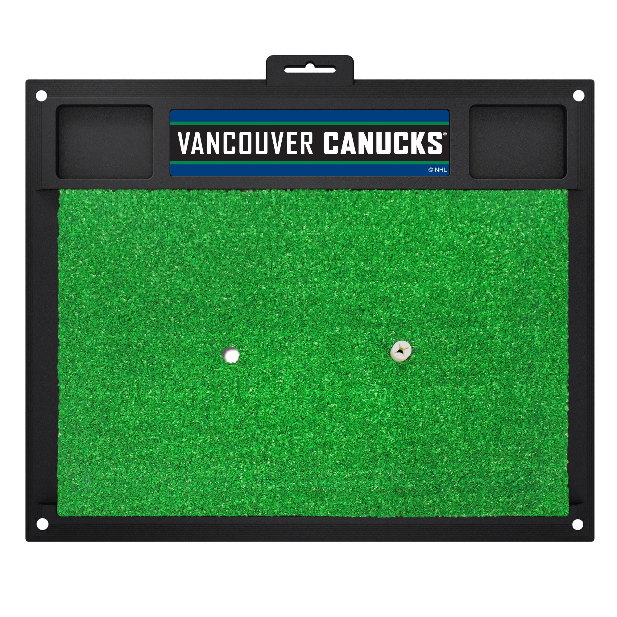 "NHL - Vancouver Canucks Golf Hitting Mat 20"" x 17"""