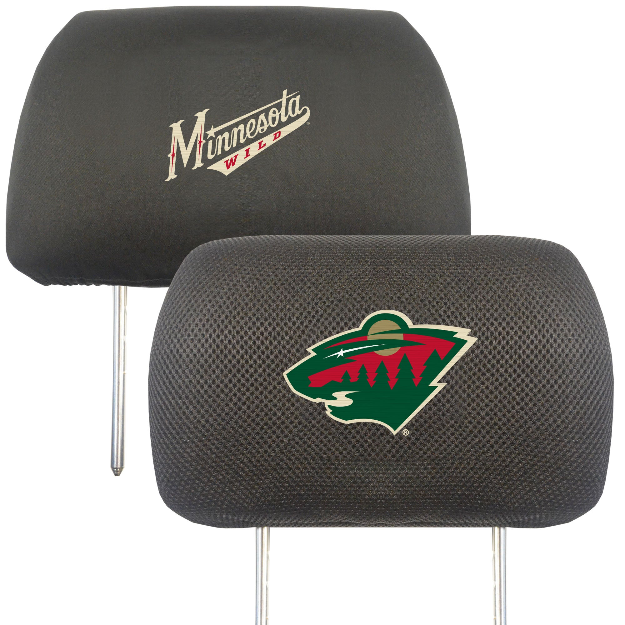 "NHL - Minnesota Wild Head Rest Cover 10""x13"""