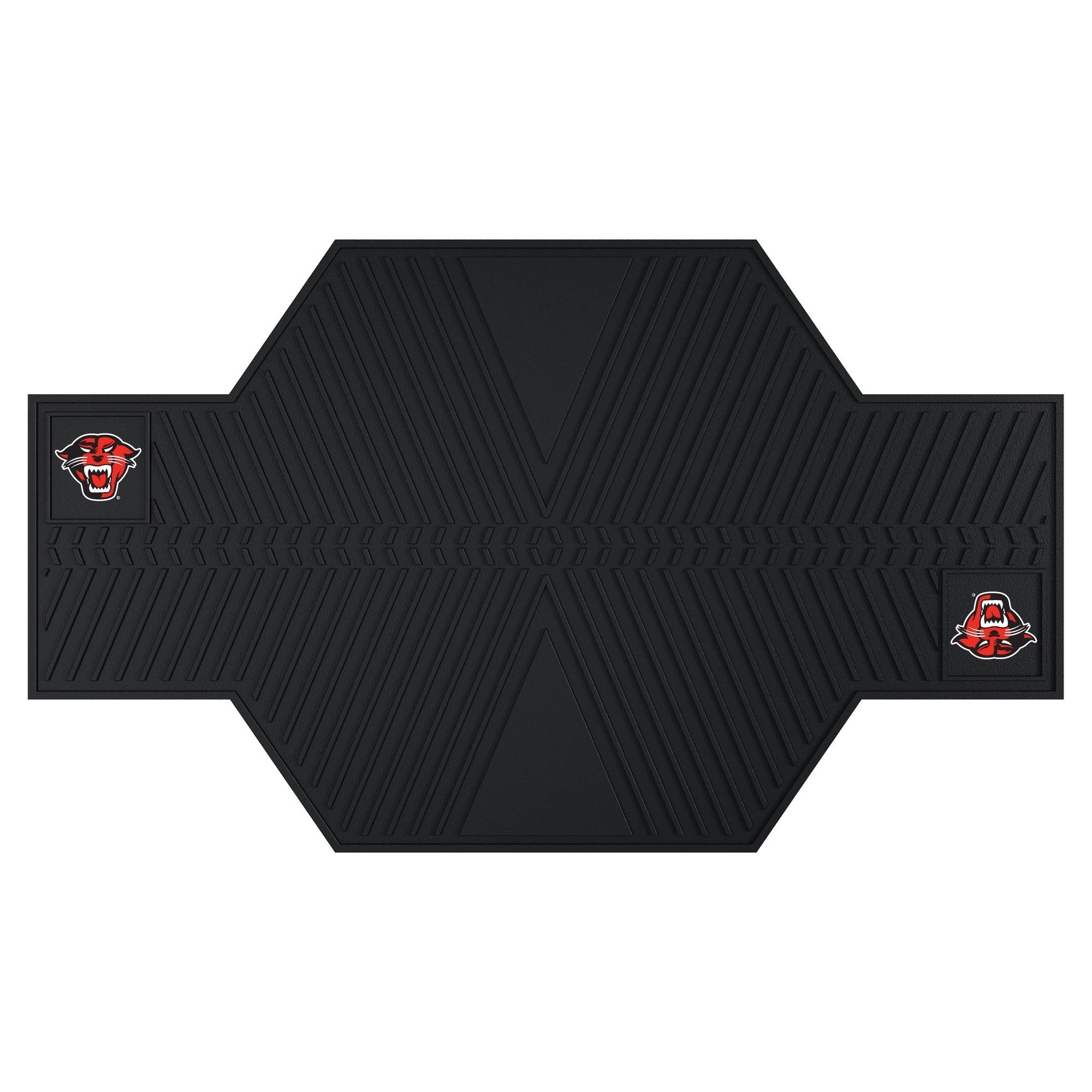 "Davenport University Motorcycle Mat 82.5""x42"""
