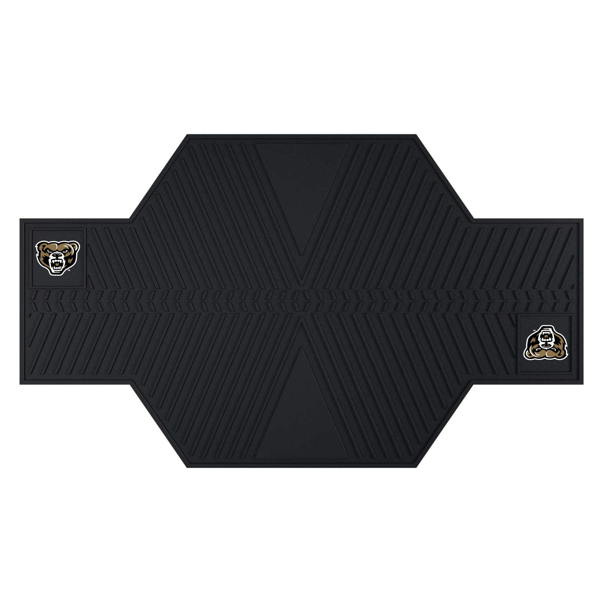 "Oakland University Motorcycle Mat 82.5""x42"""