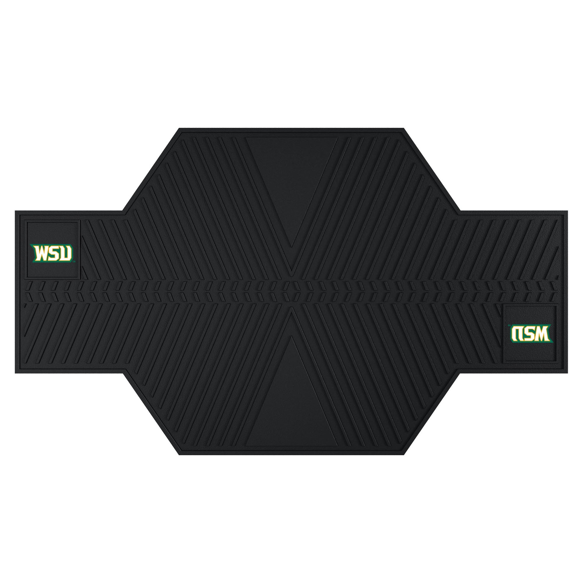 "Wright State University Motorcycle Mat 82.5""x42"""