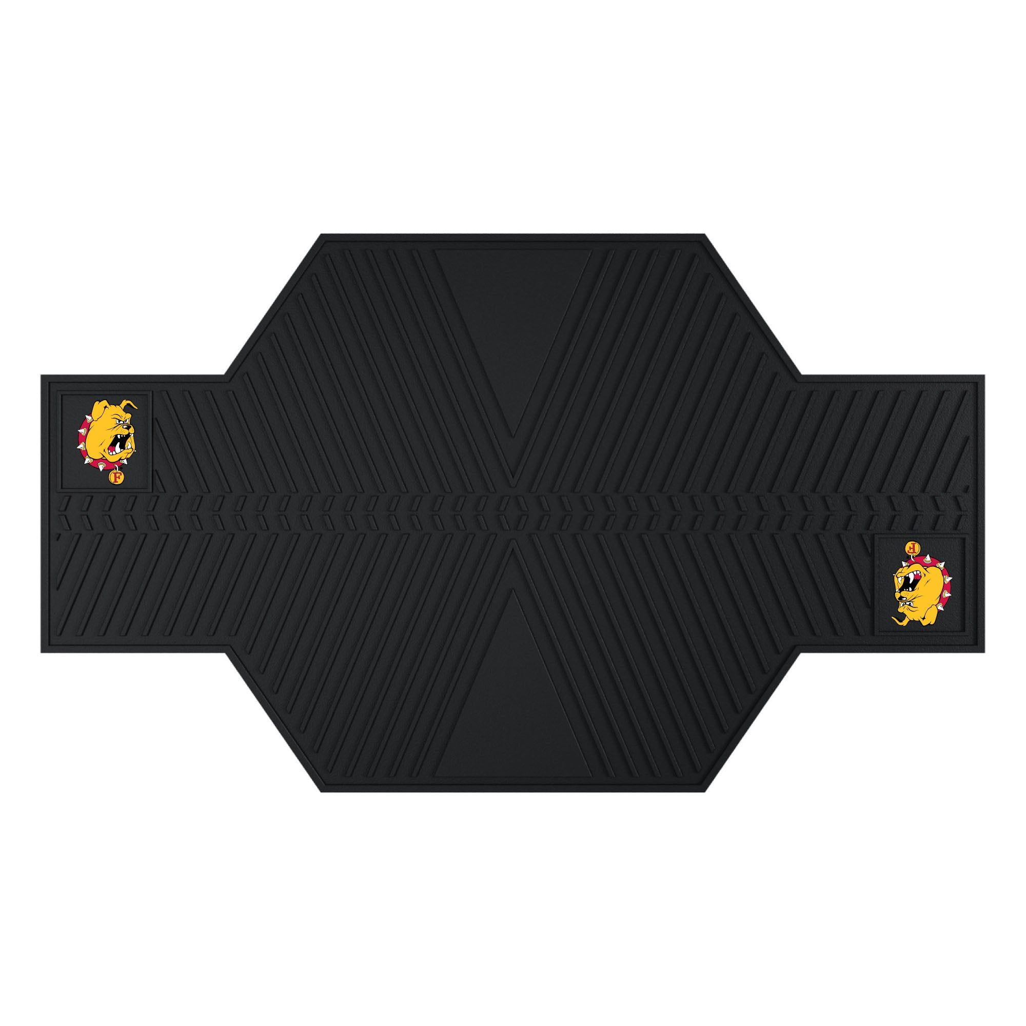 "Ferris State University Motorcycle Mat 82.5""x42"""