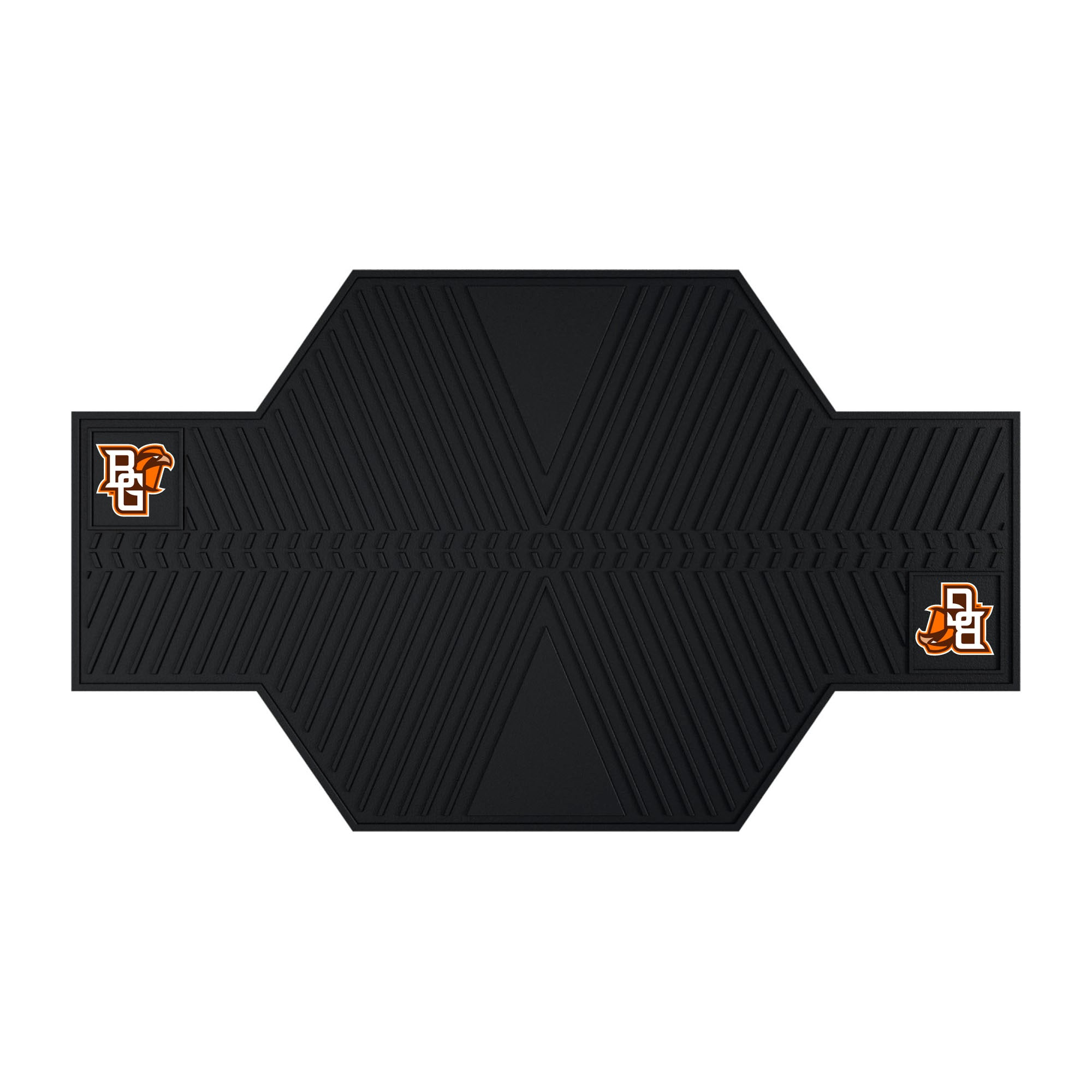 "Bowling Green State University Motorcycle Mat 82.5""x42"""