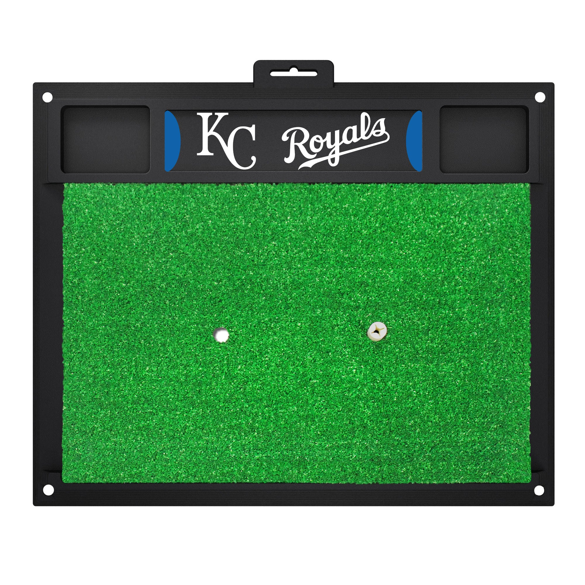 "MLB - Kansas City Royals Golf Hitting Mat 20"" x 17"""