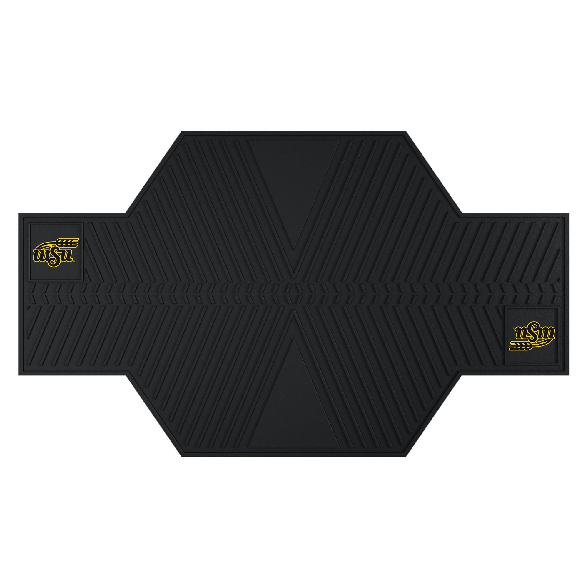 "Wichita State University Motorcycle Mat 82.5""x42"""