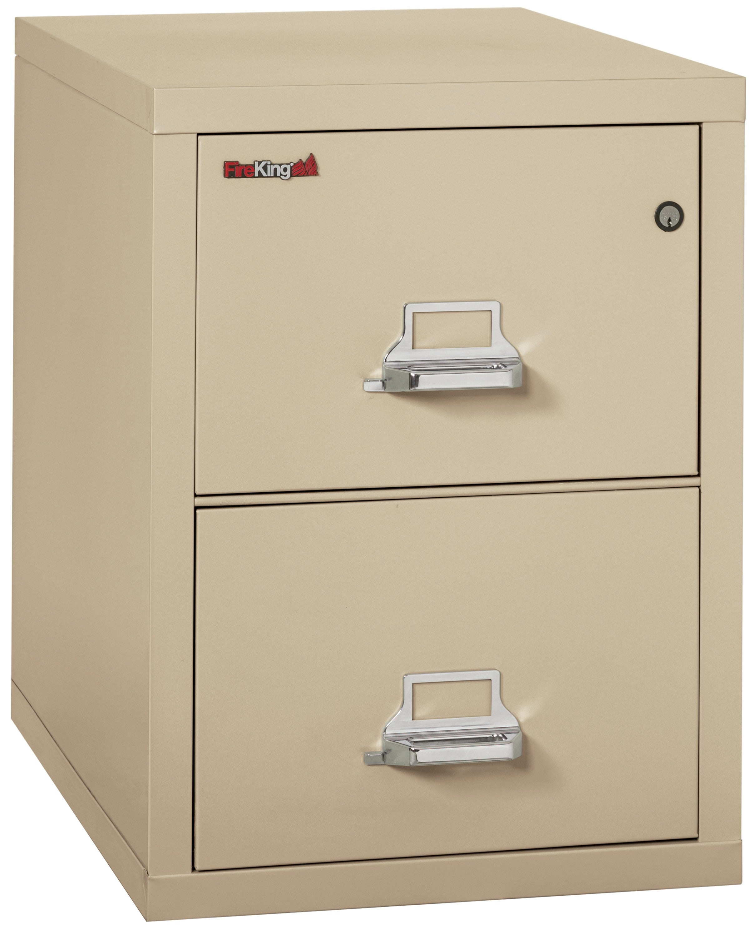 "Fireking 2 Drawer Letter 31"" D Classic Vertical File Cabinet"