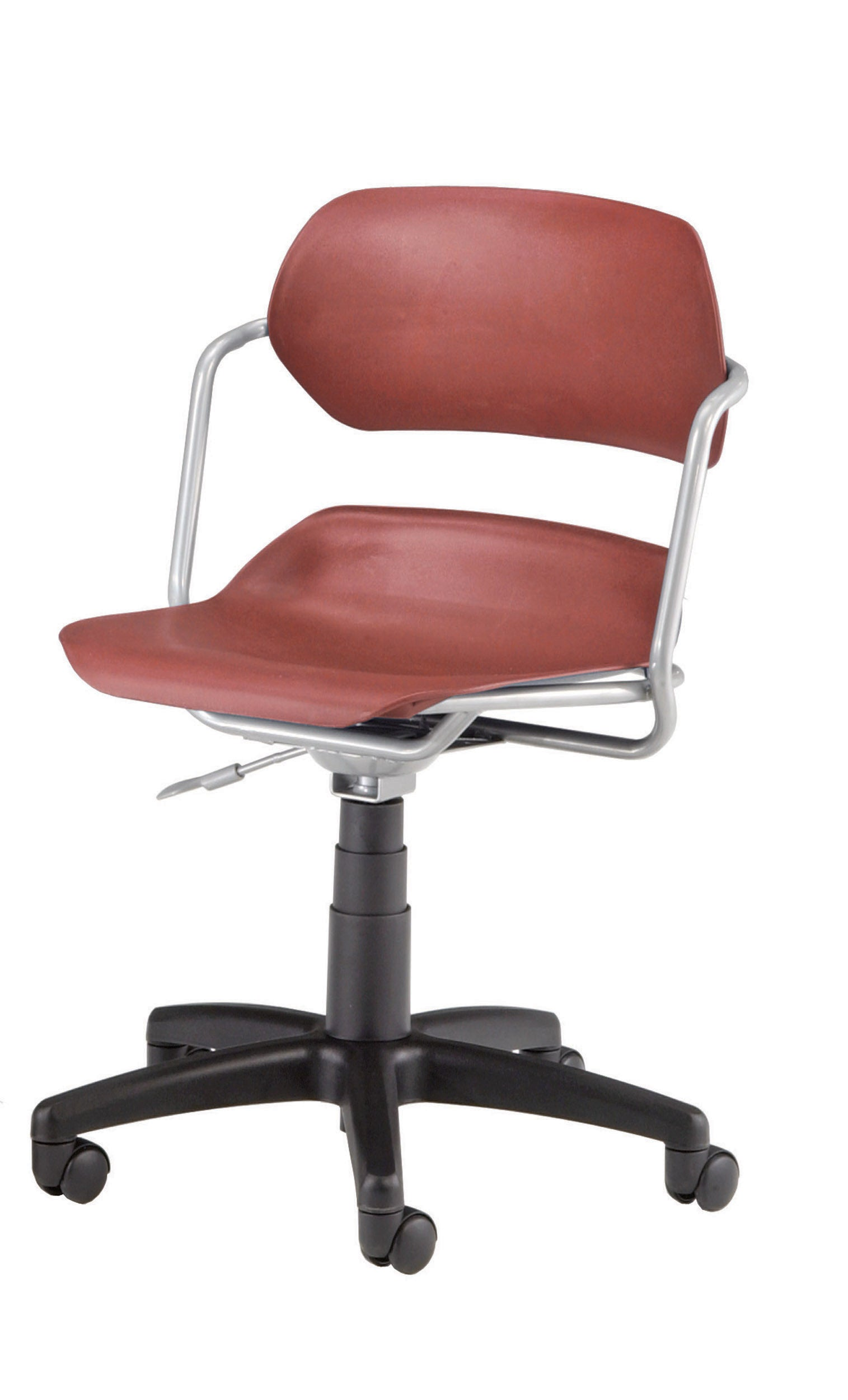 Ofminc Model 200 Martisa Series Plastic Swivel Task Arms Chair