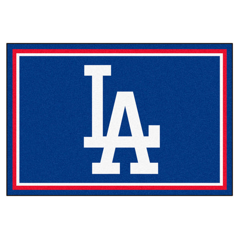 "MLB - Los Angeles Dodgers 5x8 Rug 59.5""x88"""