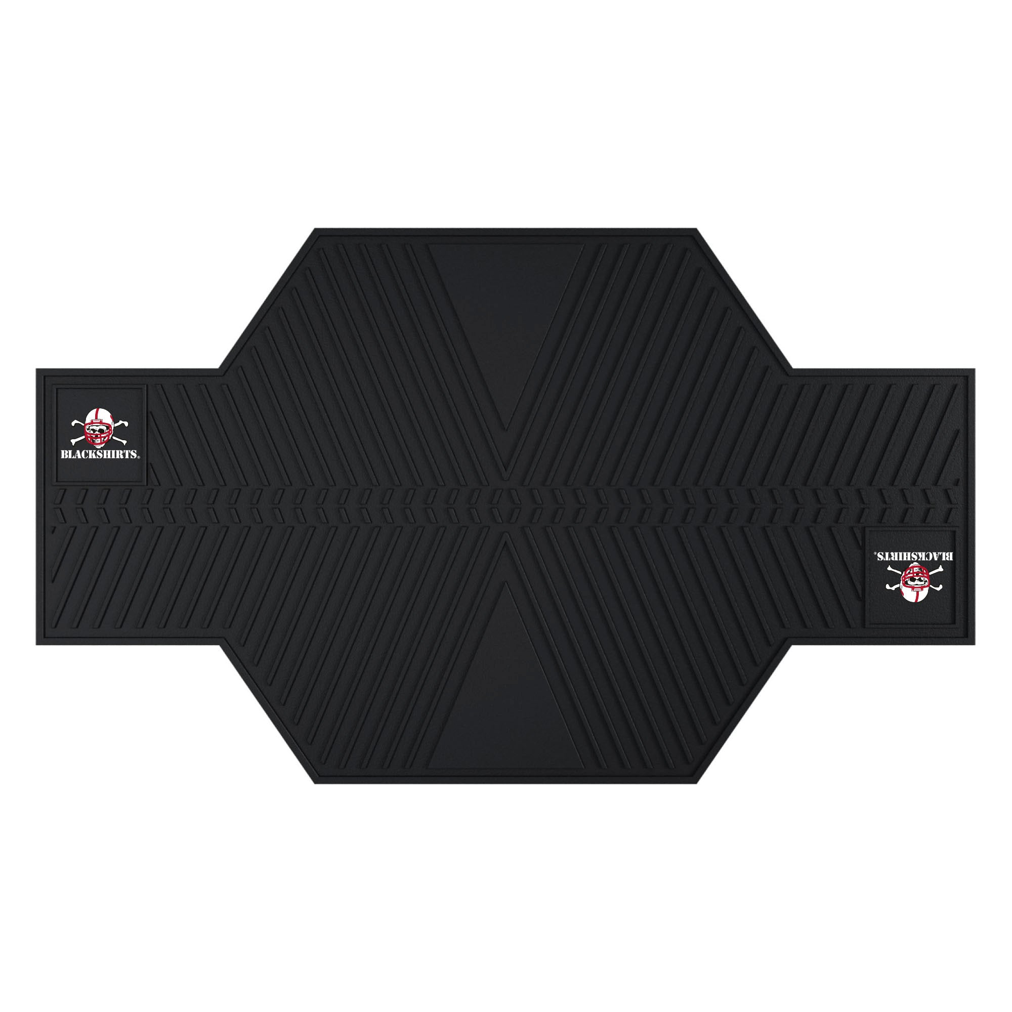 "University of Nebraska Motorcycle Mat 82.5""x42"""