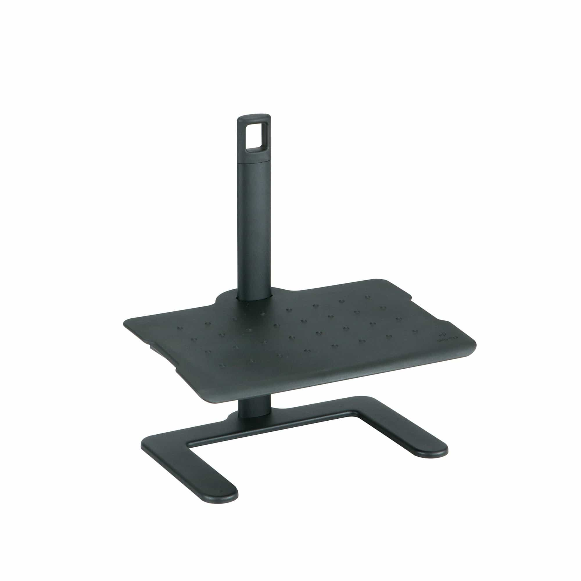 bedinhome - 2129BL Shift Comfort Design Black Nylon Plastic Height-Adjustable Footrest For Standing Desk With Cam Lock - Safco - Footrest