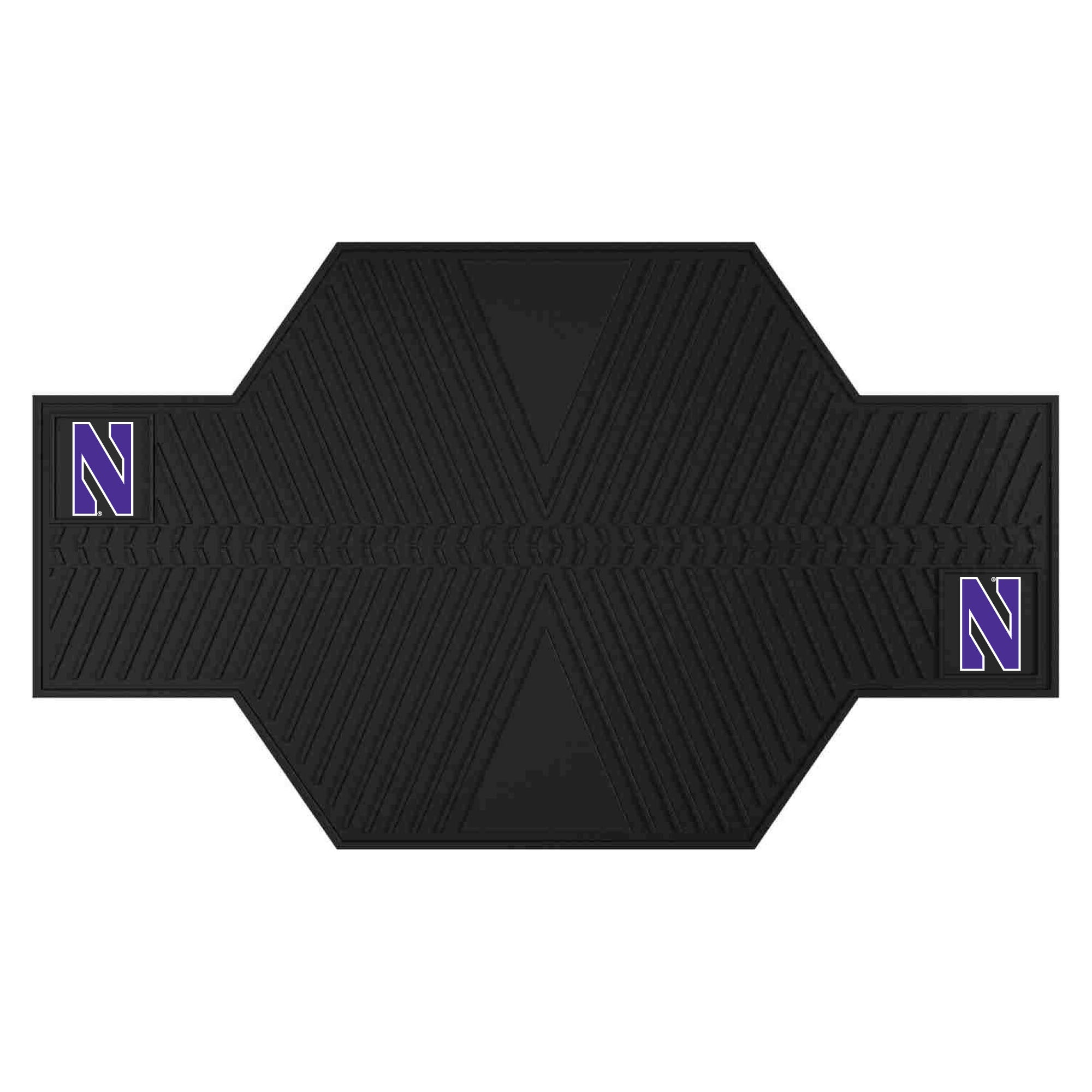 "Northwestern University Motorcycle Mat 82.5""x42"""