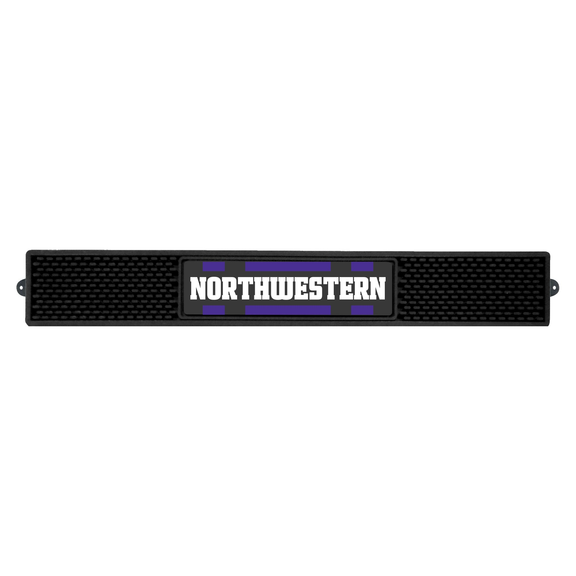 "Northwestern University Drink Mat 3.25""x24"""
