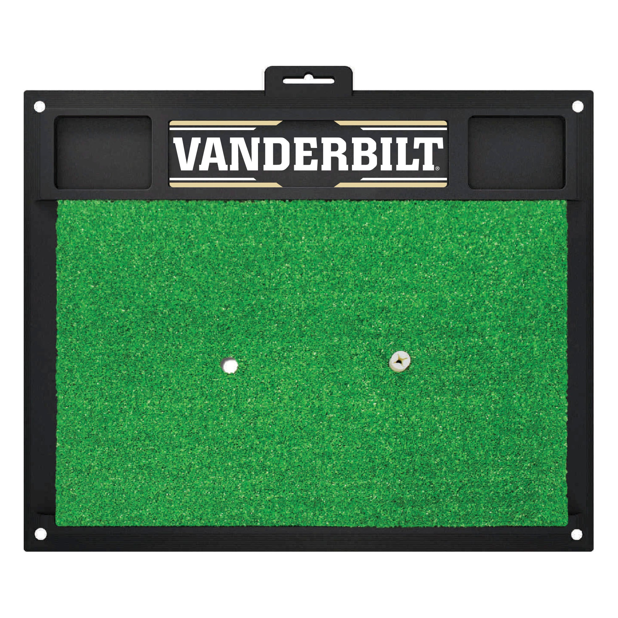 "Vanderbilt University Golf Hitting Mat 20"" x 17"""