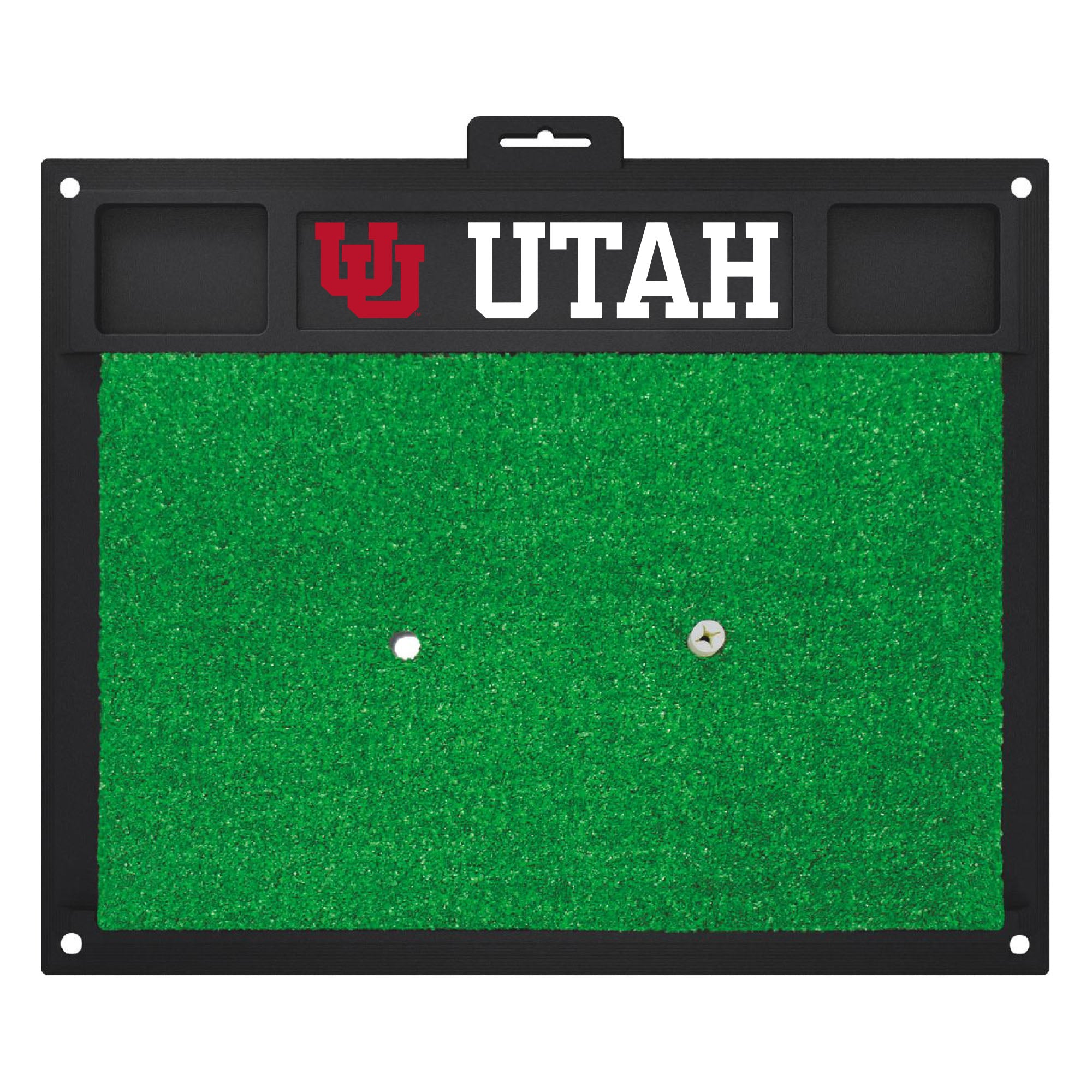 "University of Utah Golf Hitting Mat 20"" x 17"""