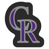 "MLB - Colorado Rockies Mascot Mat 34.8"" x 30"""