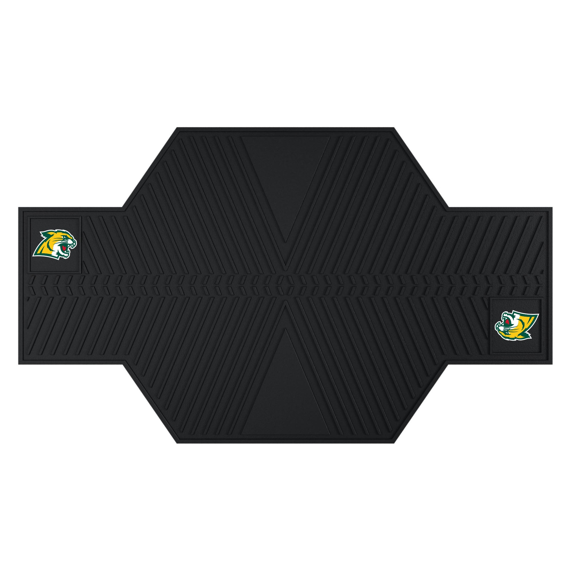 "Northern Michigan University Motorcycle Mat 82.5""x42"""