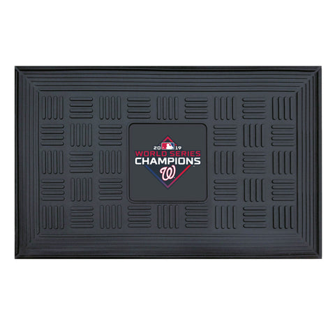 MLB - Washington Nationals  2019 World Series Champions Medallion Door Mat